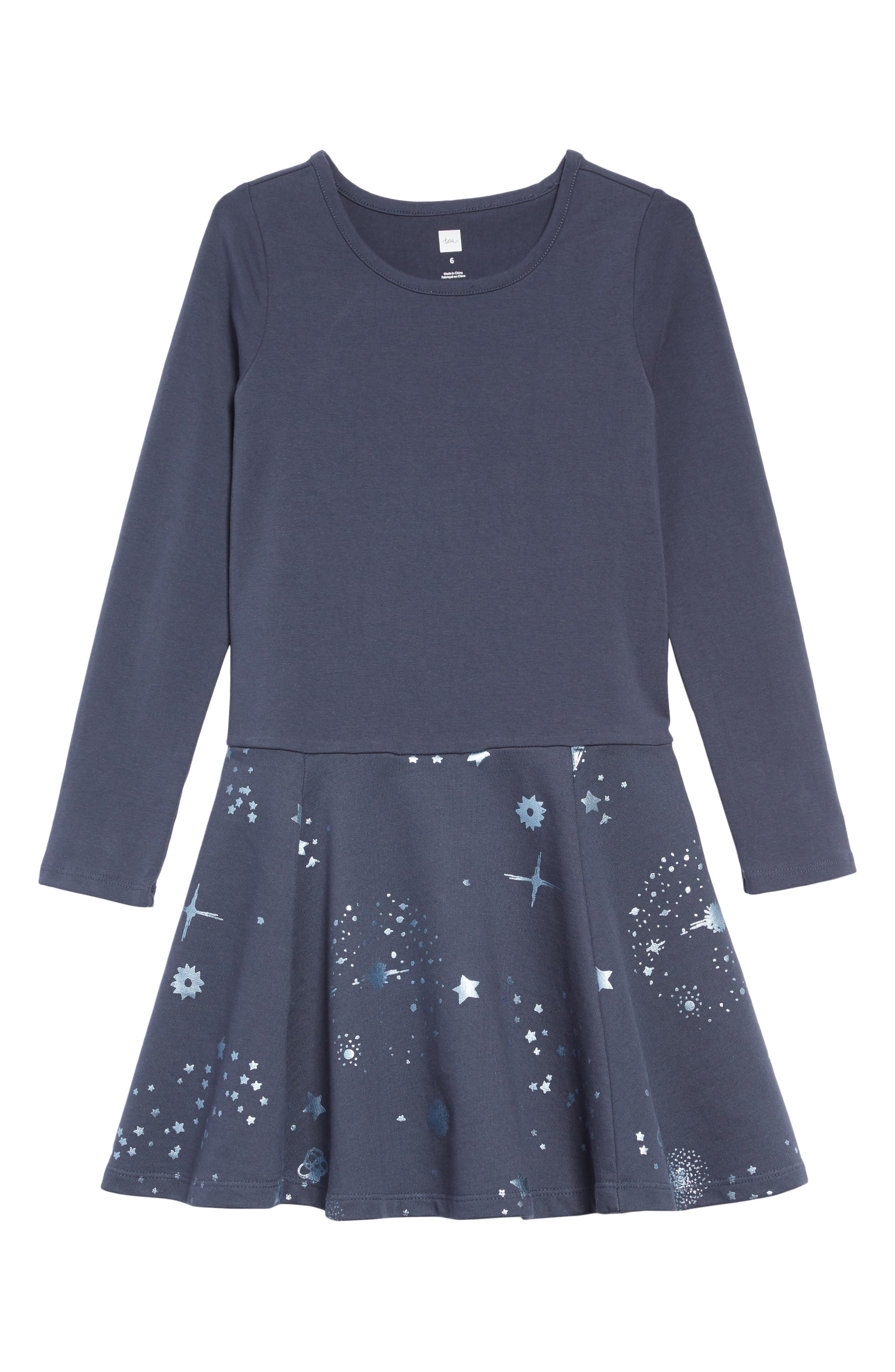 Starry Skies Dress,                             Main thumbnail 1, color,                             STARRY SKIES - INDIGO
