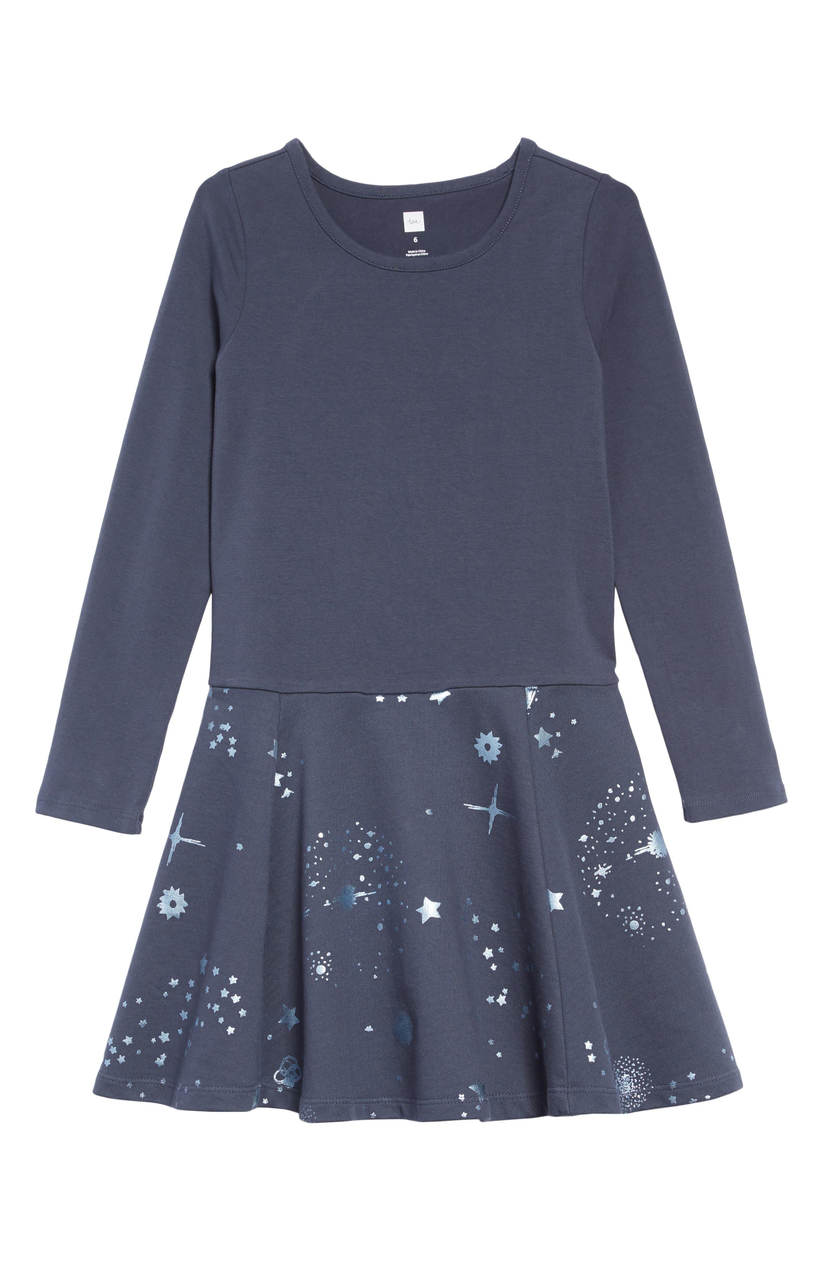 Starry Skies Dress,                         Main,                         color, STARRY SKIES - INDIGO