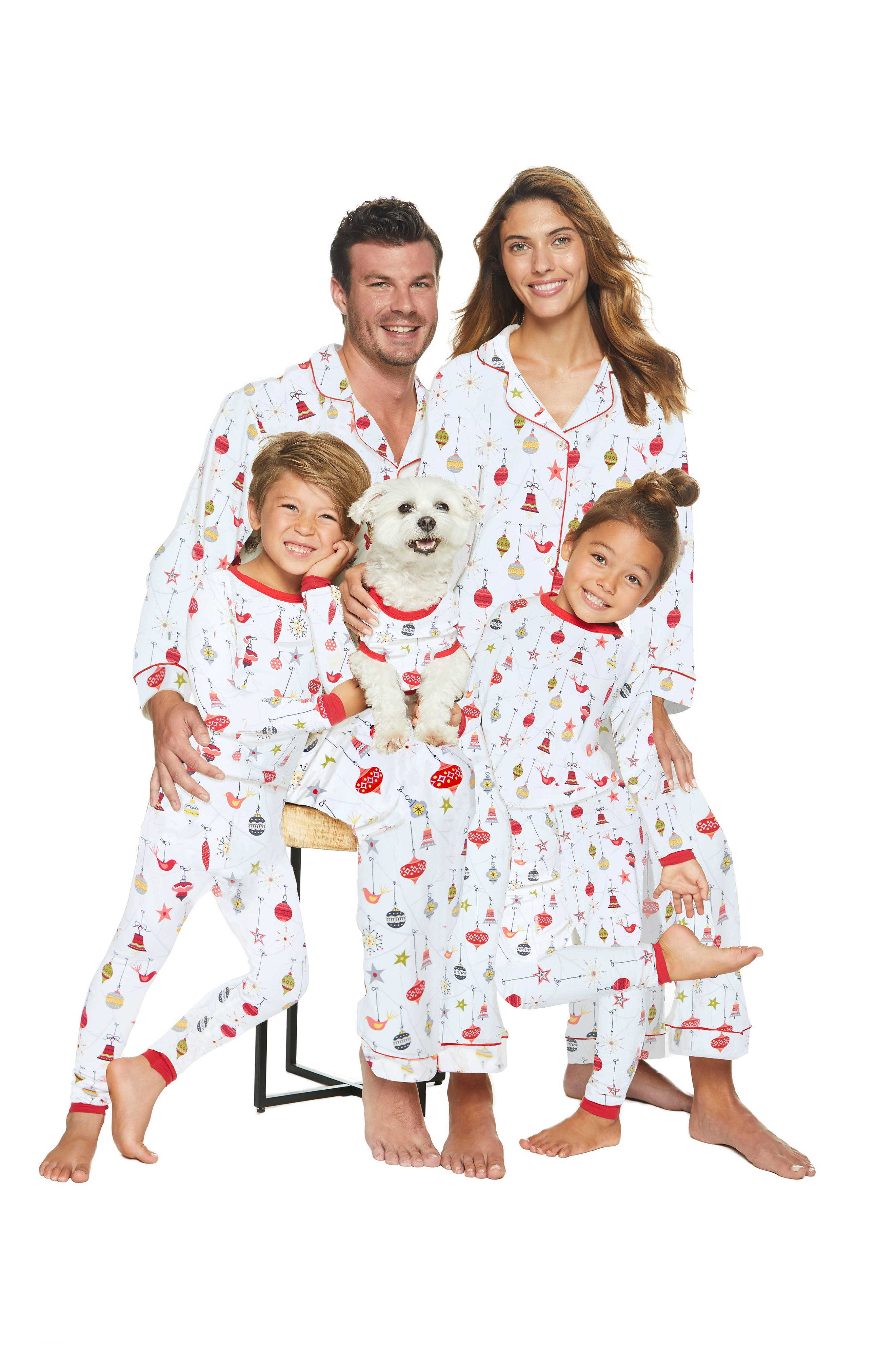 Fitted Two-Piece Pajamas,                             Alternate thumbnail 2, color,                             133