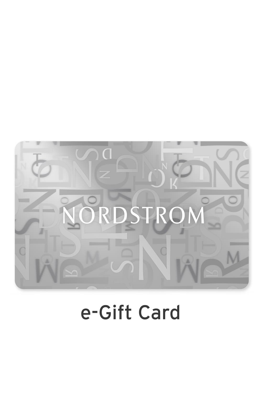 NORDSTROM GIFT CARD,                             e-Gift Card Classic,                             Main thumbnail 1, color,                             CGC