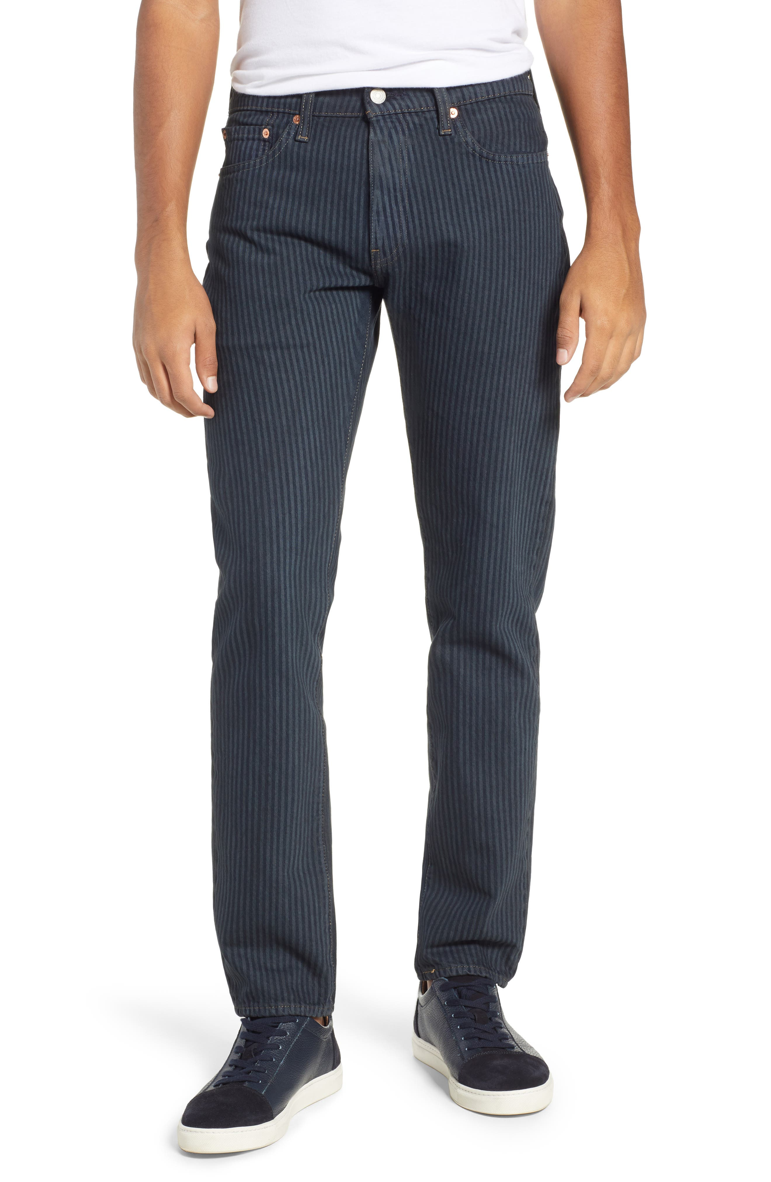 511<sup>™</sup> Stripe Slim Fit Jeans,                         Main,                         color, DARK ONLY
