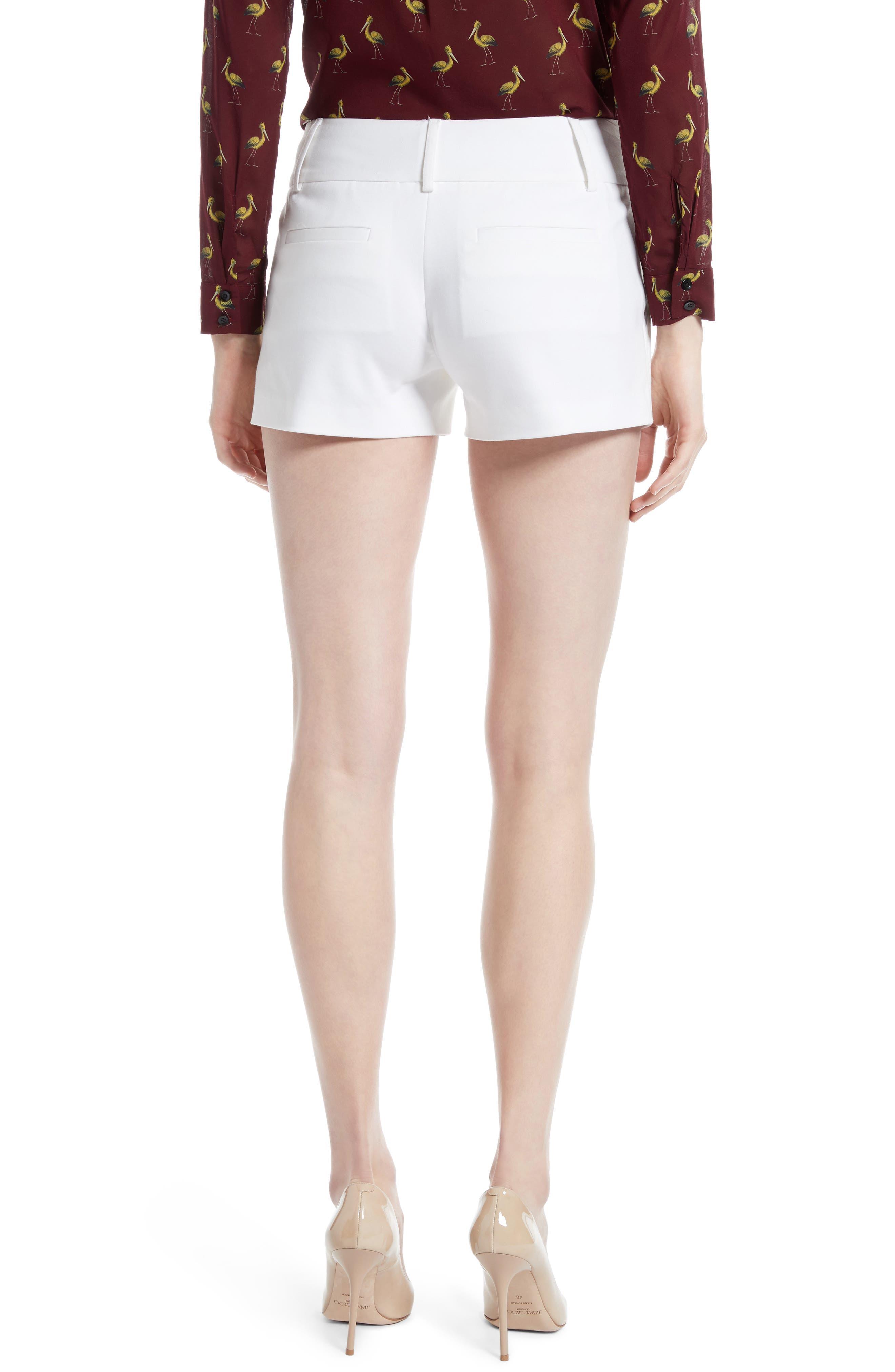 Cady Cotton Blend Shorts,                             Alternate thumbnail 4, color,