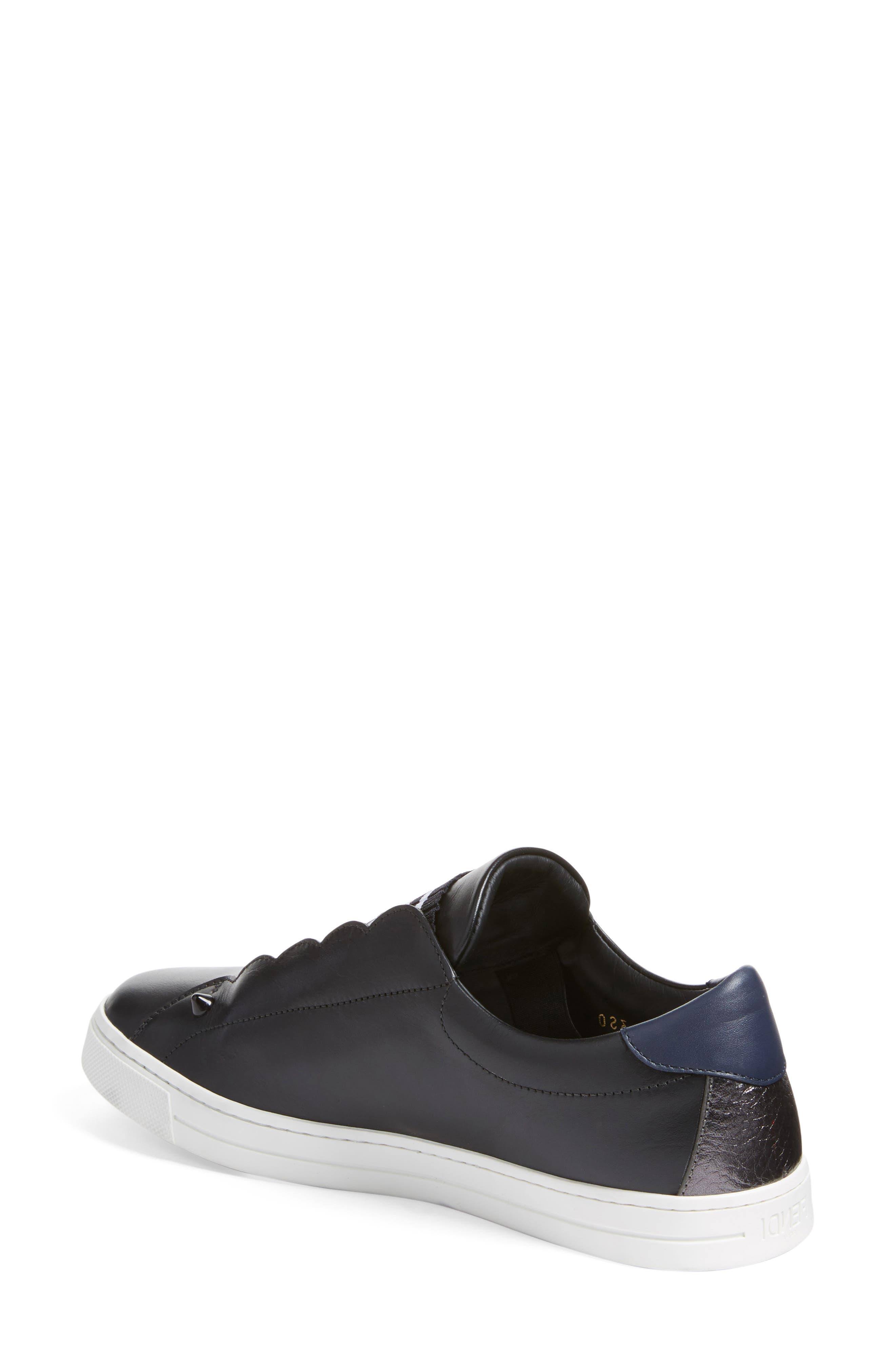Rockoclick Slip-On Sneaker,                             Alternate thumbnail 2, color,                             001