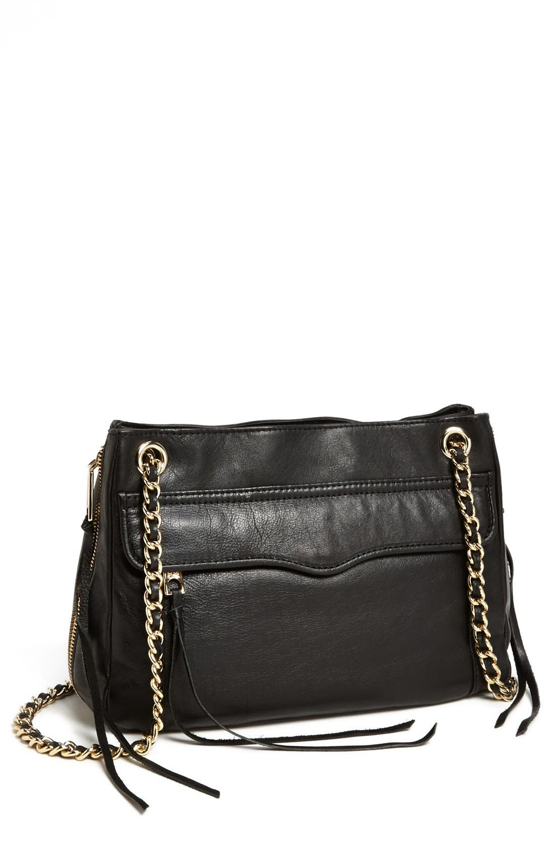 REBECCA MINKOFF 'Swing' Convertible Shoulder Bag, Main, color, 003