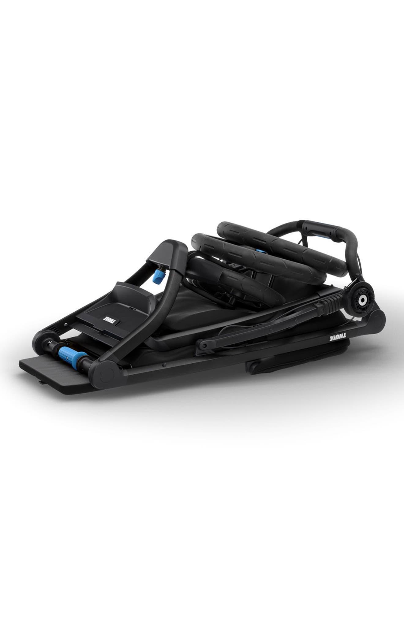 THULE,                             Urban Glide 2 Jogging Stroller with Black Frame,                             Alternate thumbnail 3, color,                             006