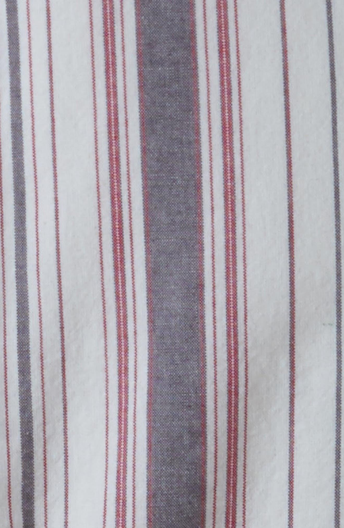 Mixed Stripe Duvet Cover,                             Alternate thumbnail 2, color,                             900