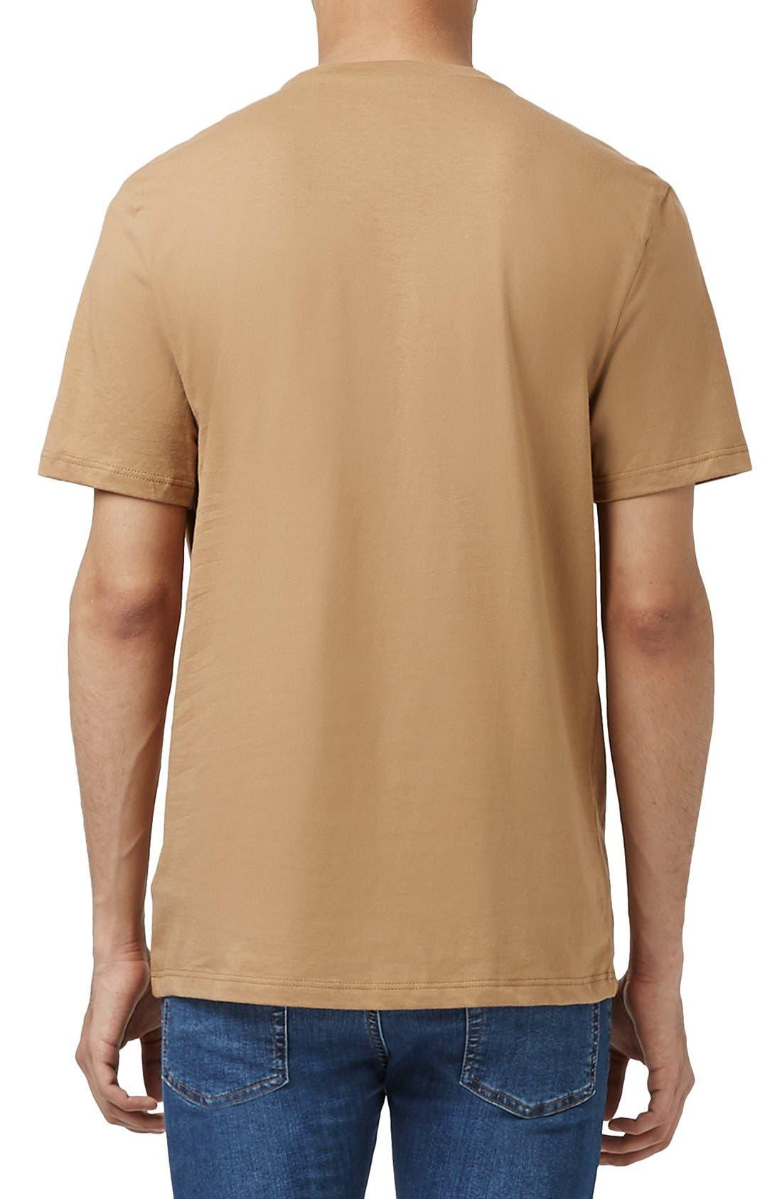 Slim Fit Crewneck T-Shirt,                             Alternate thumbnail 396, color,