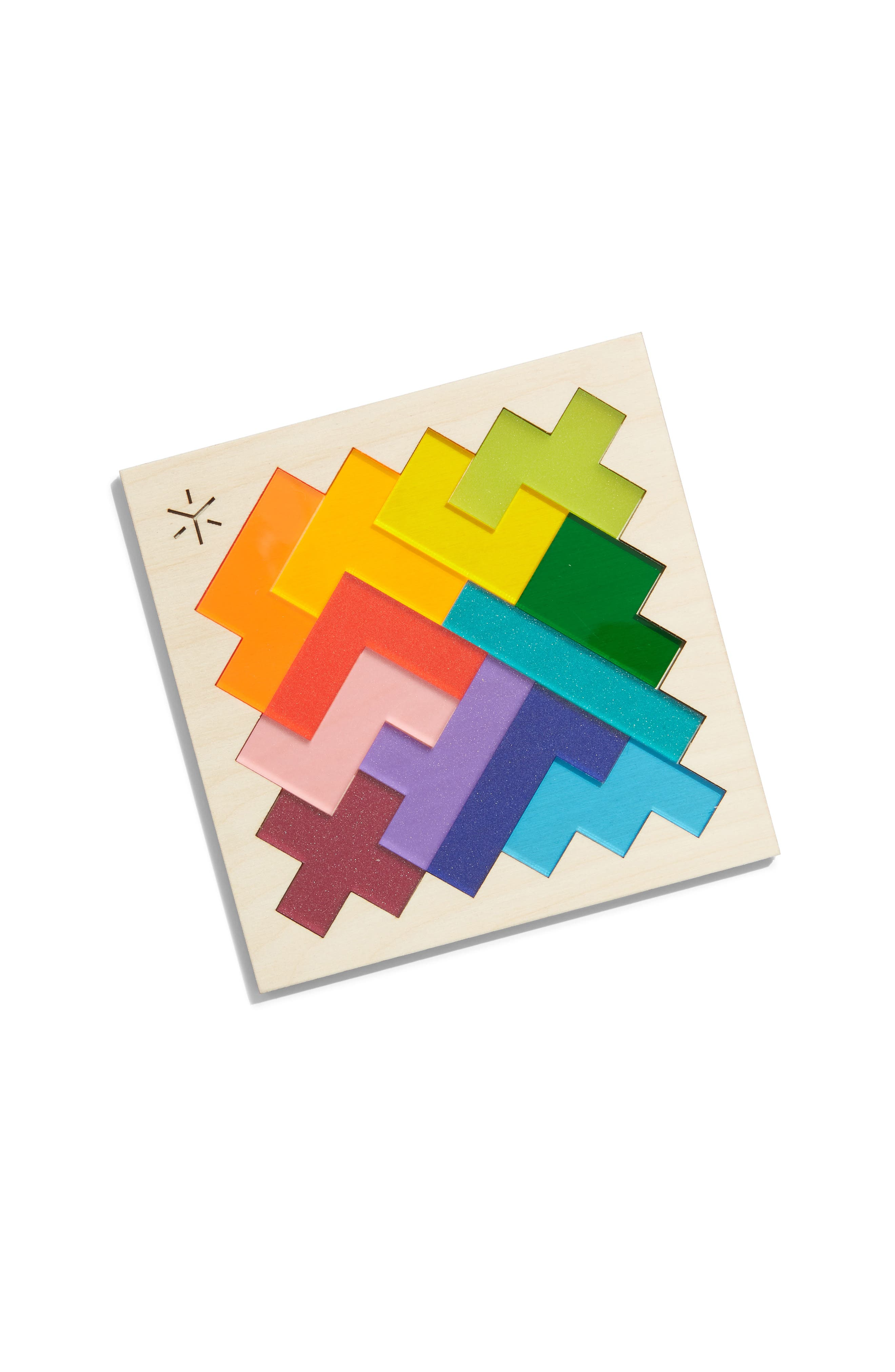 Square Pentomino Puzzle,                             Main thumbnail 1, color,                             RAINBOW