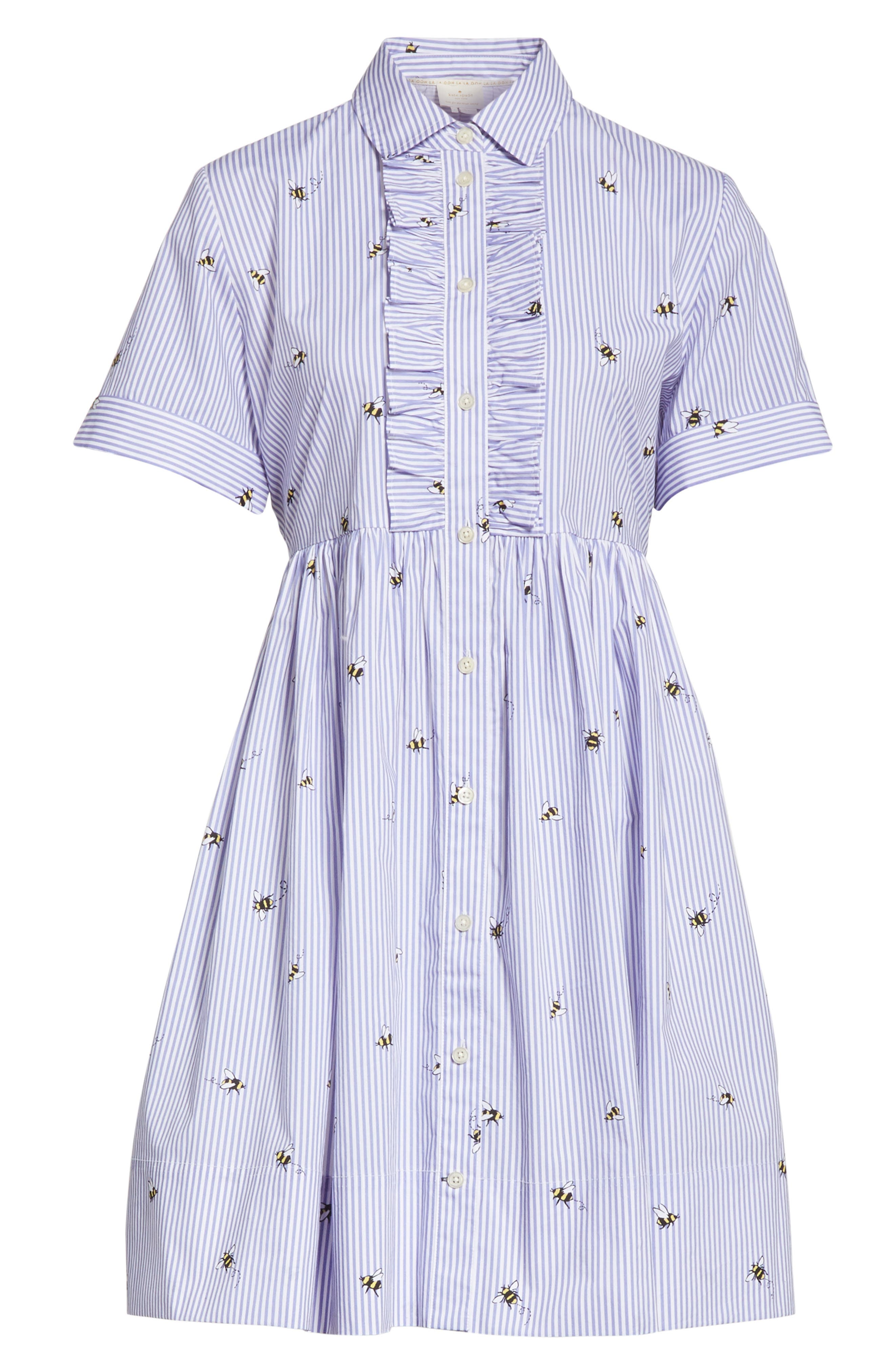 abuzz poplin shirtdress,                             Alternate thumbnail 6, color,
