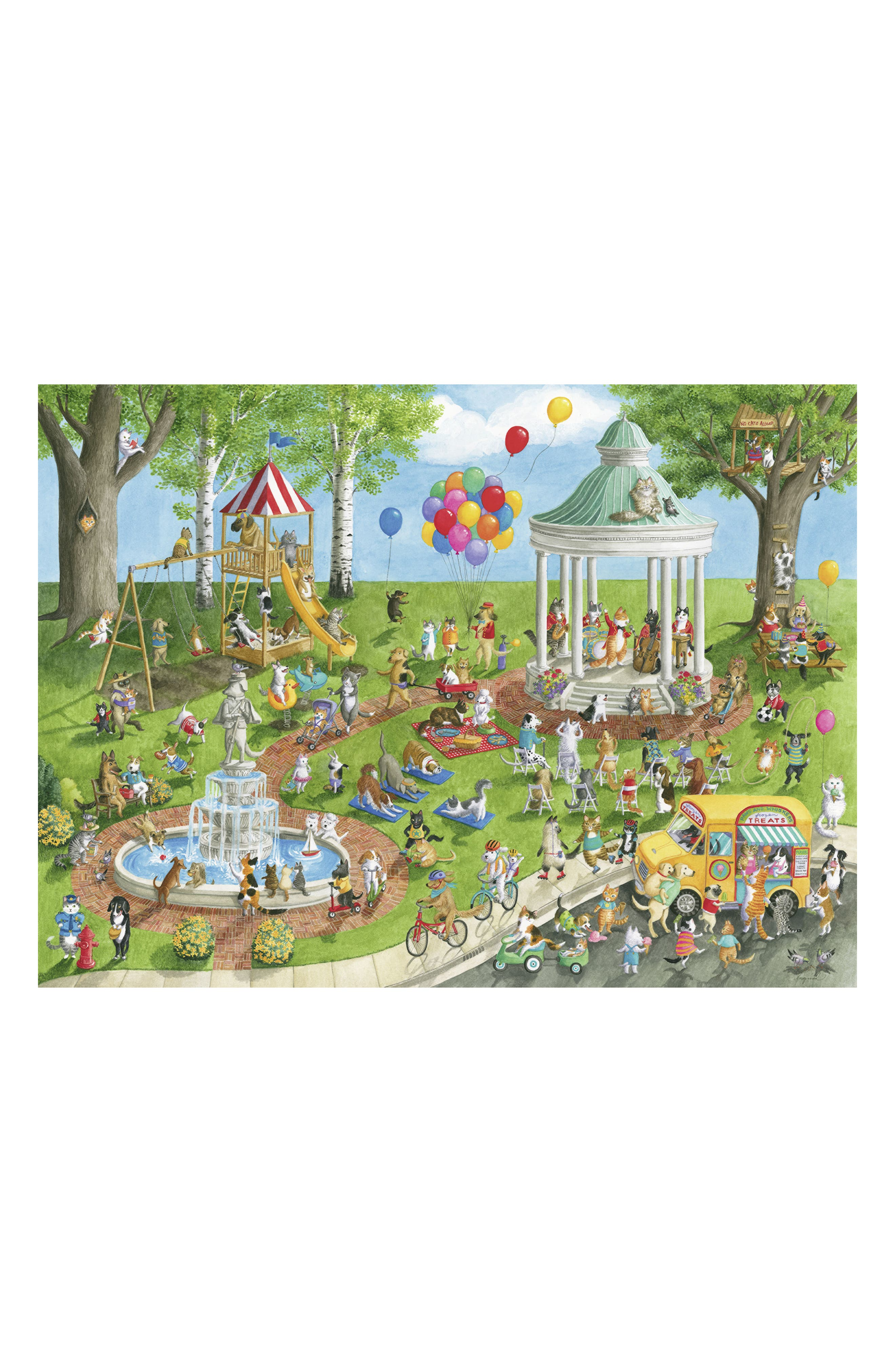 Pet Park 300-Piece Puzzle,                             Alternate thumbnail 2, color,                             300