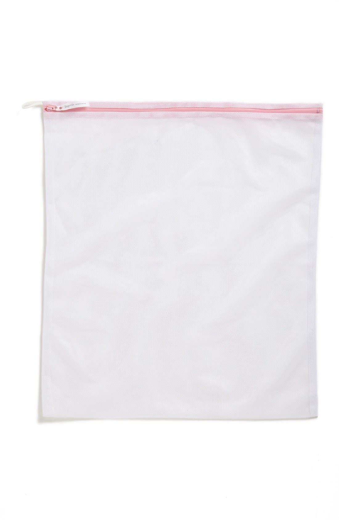 Large Lingerie Wash Bag,                             Alternate thumbnail 2, color,                             WHITE