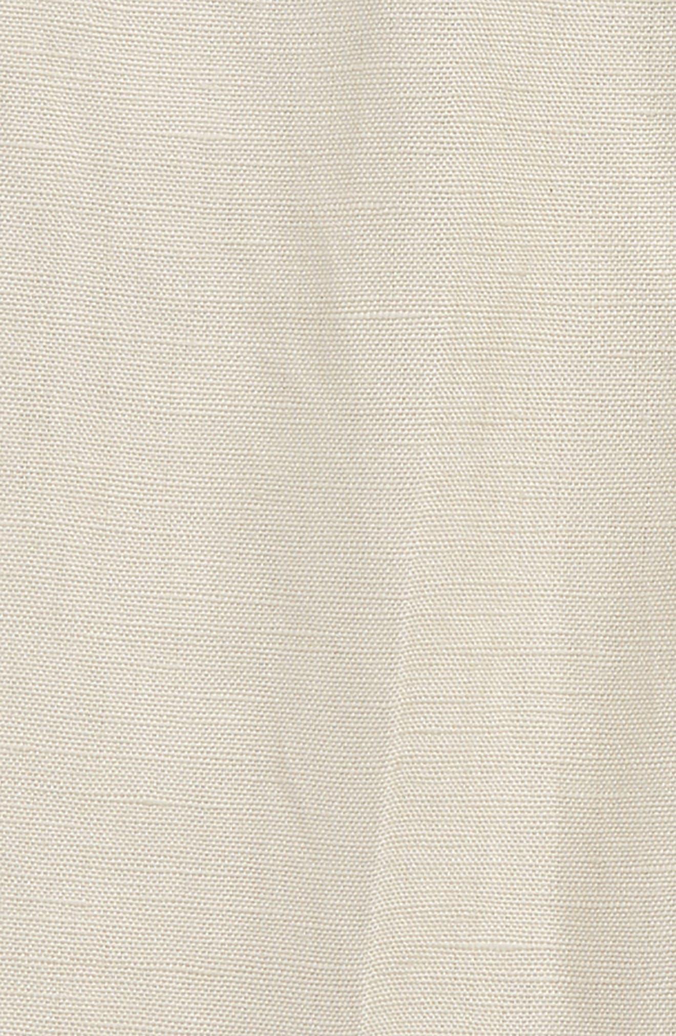 BARDOT JUNIOR,                             Miles Linen Blend Dress Pants,                             Alternate thumbnail 2, color,                             277