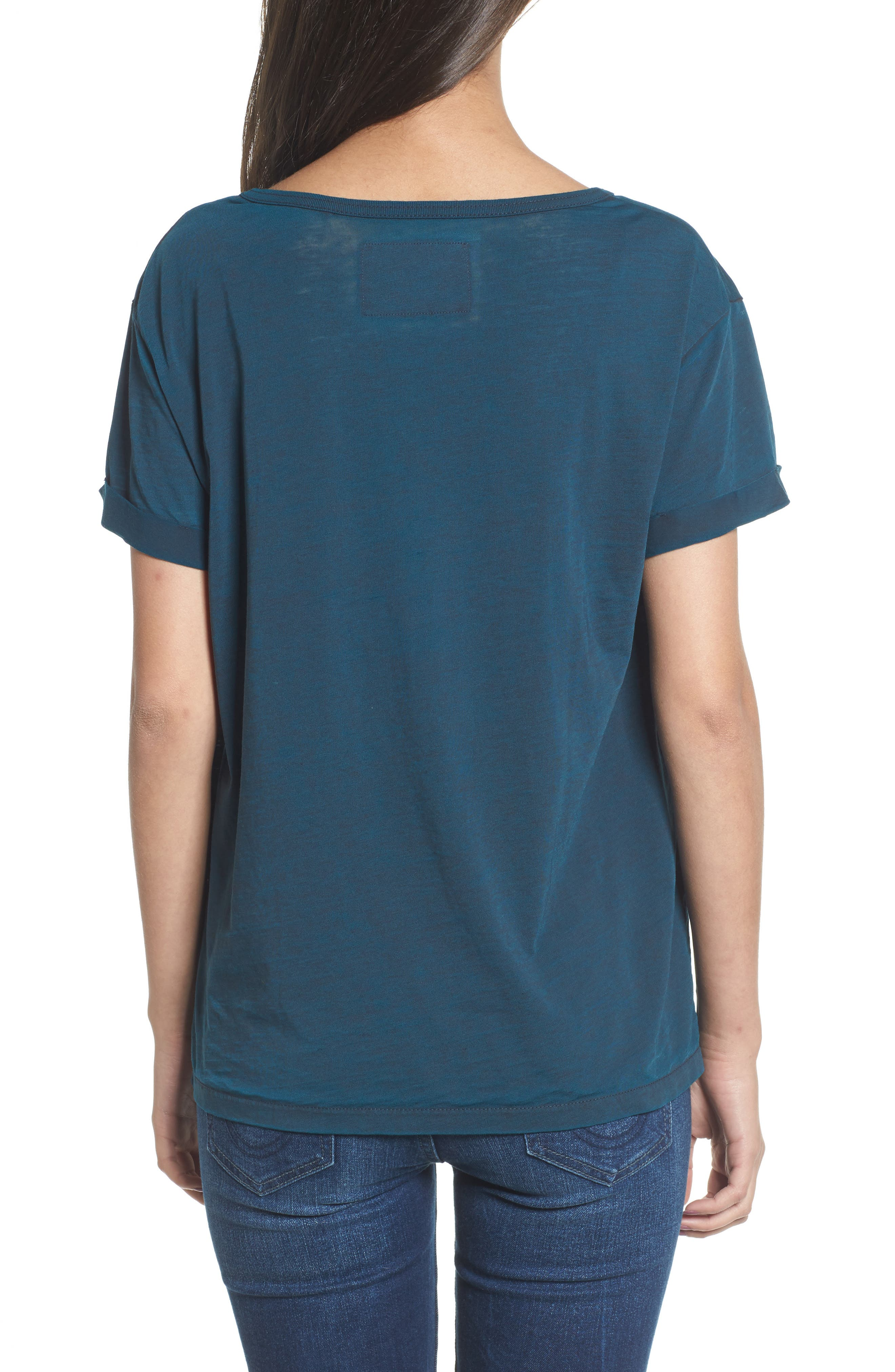 TRUE RELIGION BRAND JEANS,                             Fragment Tee,                             Alternate thumbnail 2, color,                             400
