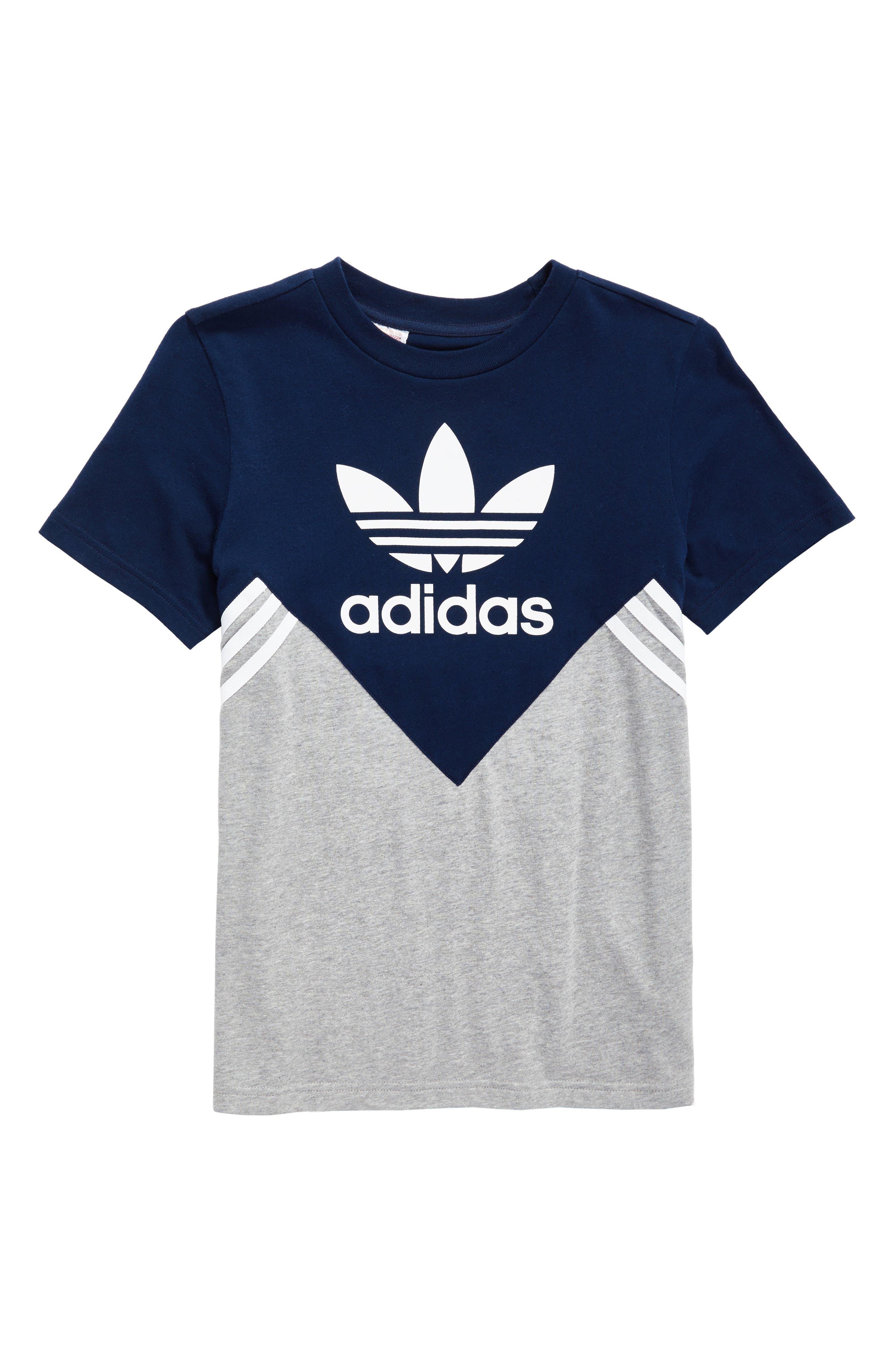 adidas FL Logo Graphic T-Shirt,                             Main thumbnail 1, color,                             415