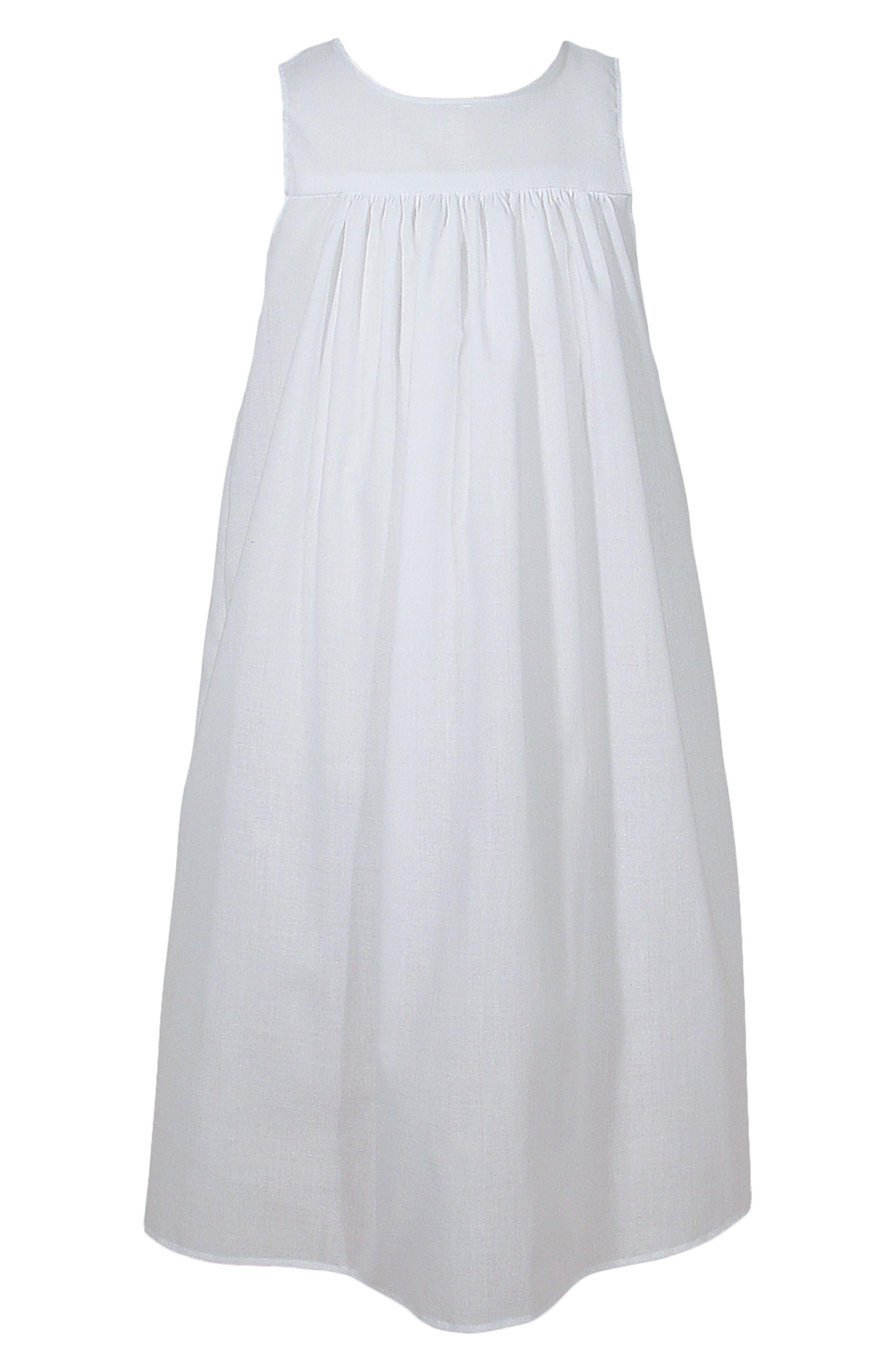 Christening Gown Slip,                         Main,                         color, WHITE