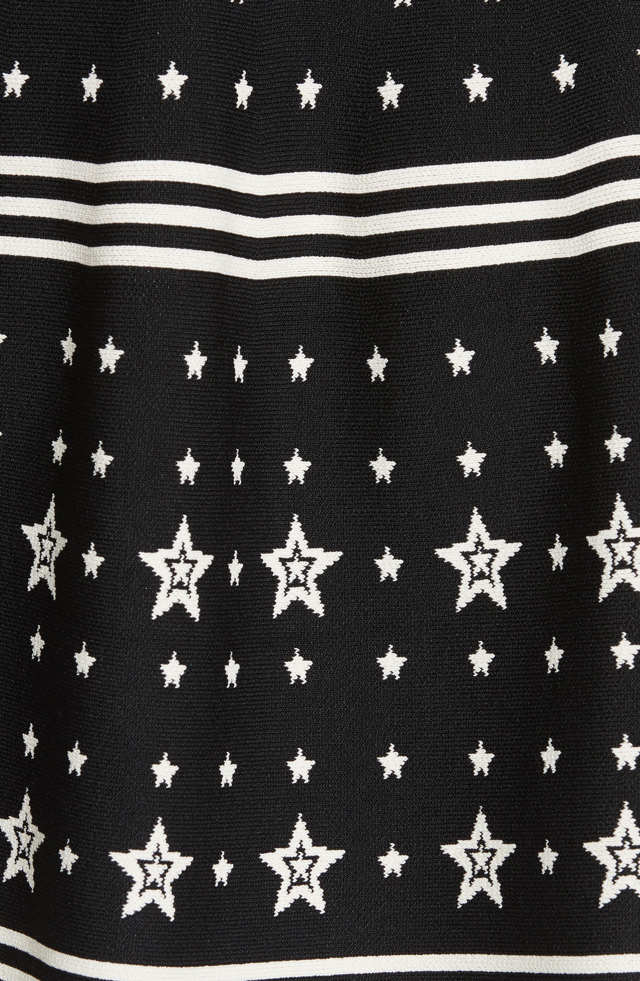 Mariae Star Dress,                             Alternate thumbnail 5, color,                             001