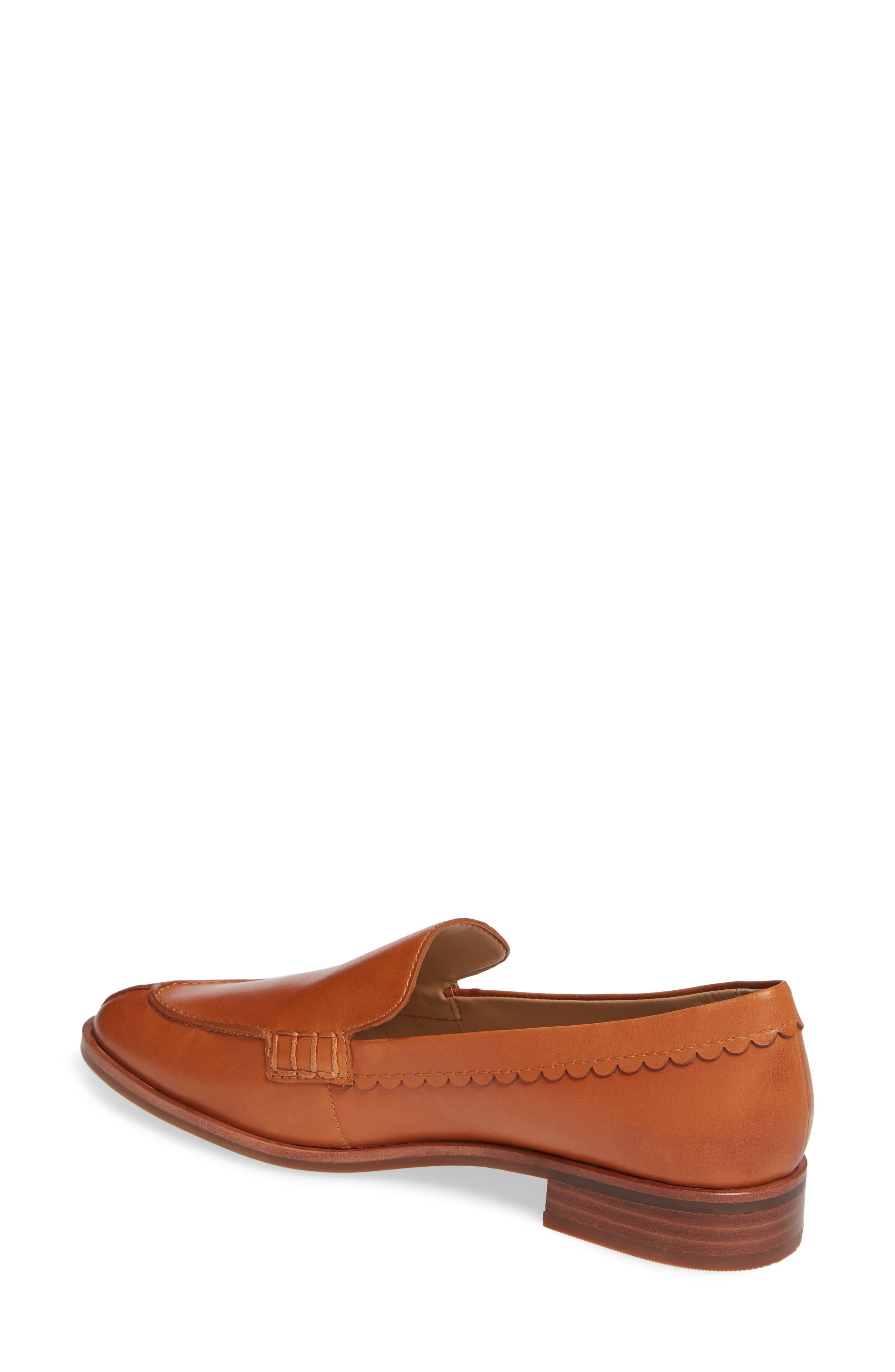 Bowery Loafer,                             Alternate thumbnail 2, color,                             COCONUT VACHETTA LEATHER
