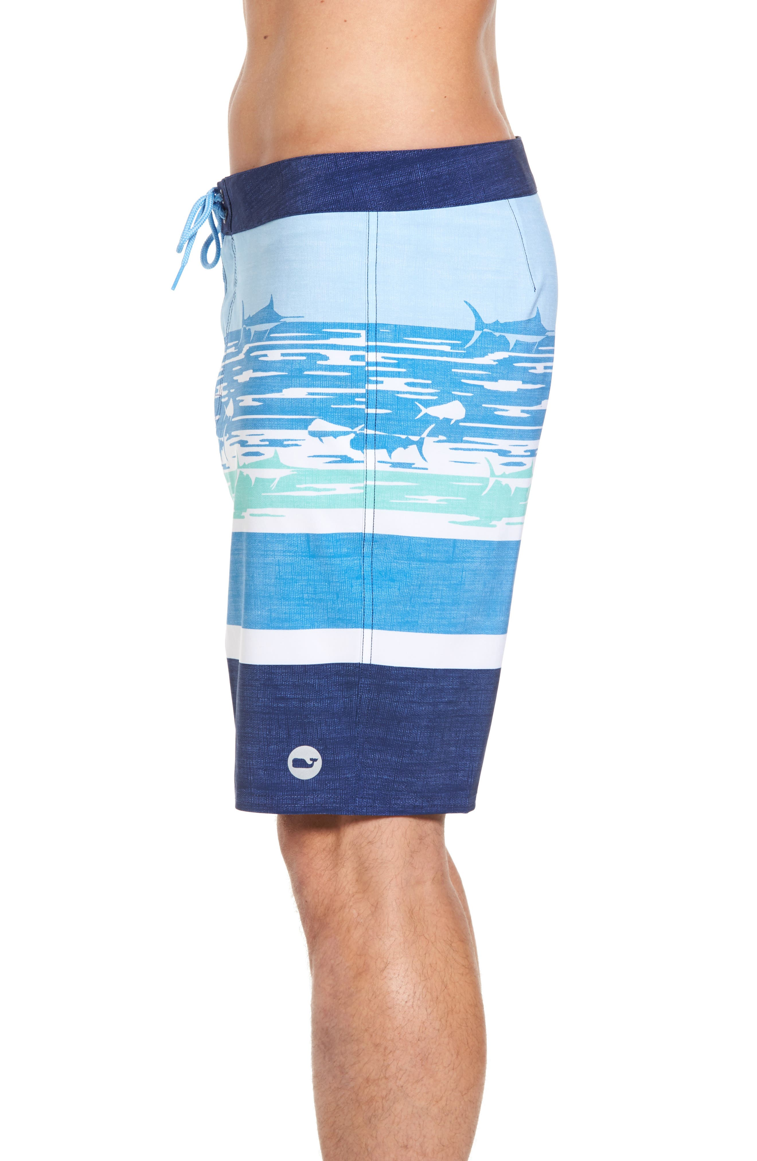 At Sea Scenic Board Shorts,                             Alternate thumbnail 4, color,