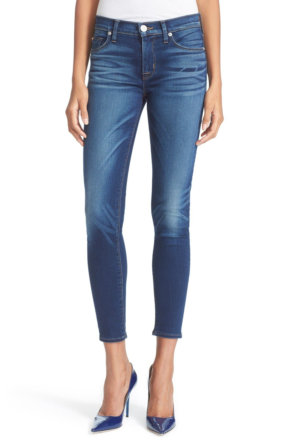 'Nico' Ankle Skinny Jeans,                             Main thumbnail 1, color,                             421