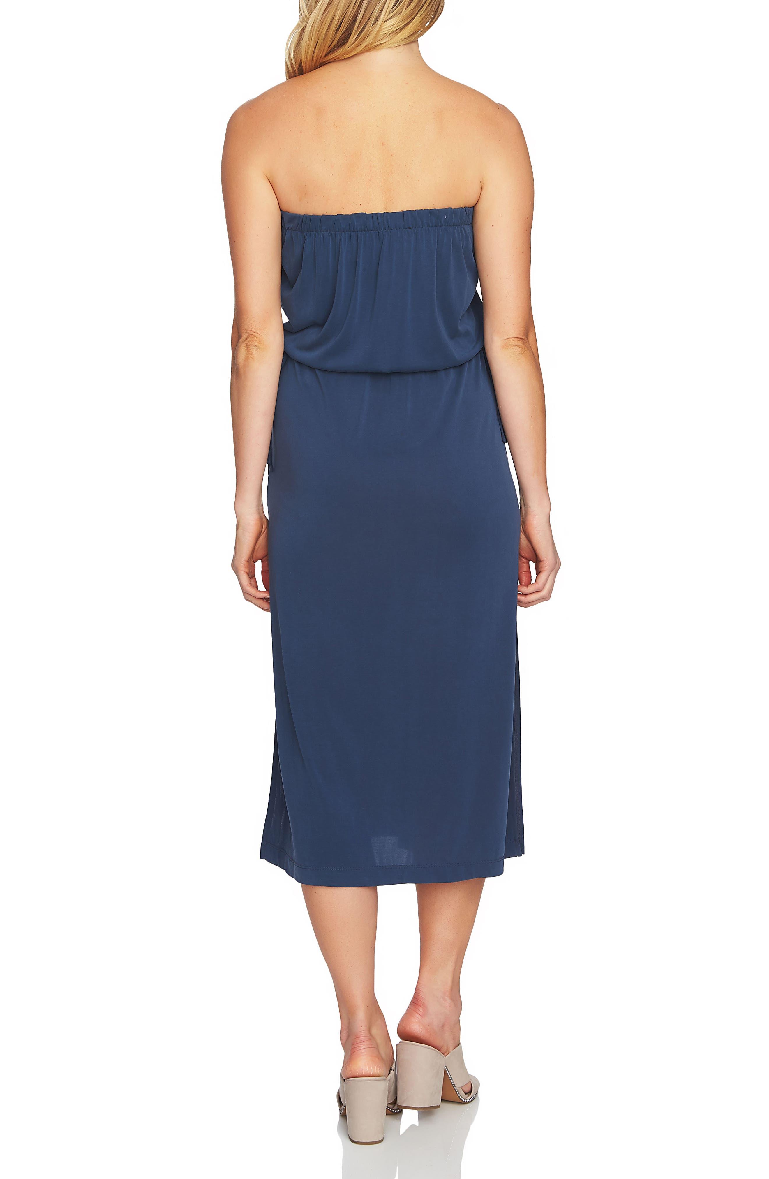 Strapless Maxi Dress,                             Alternate thumbnail 7, color,