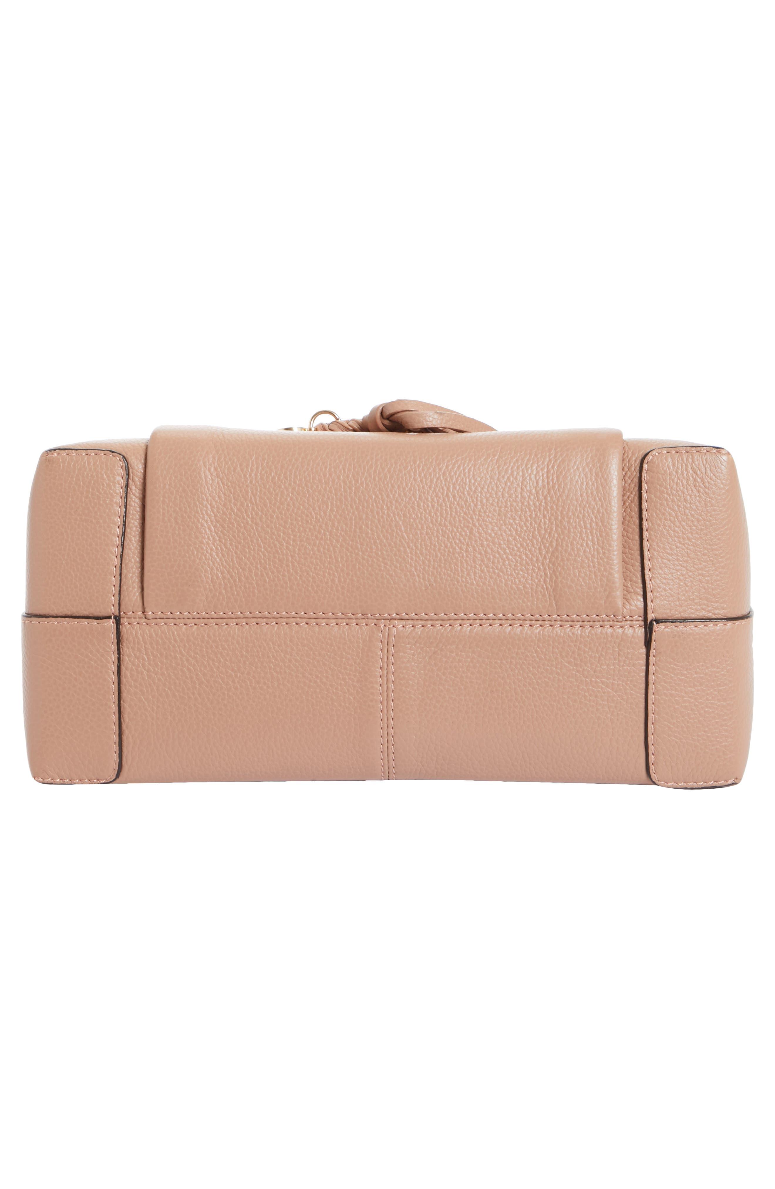 Small Joan Leather Shoulder Bag,                             Alternate thumbnail 6, color,                             650