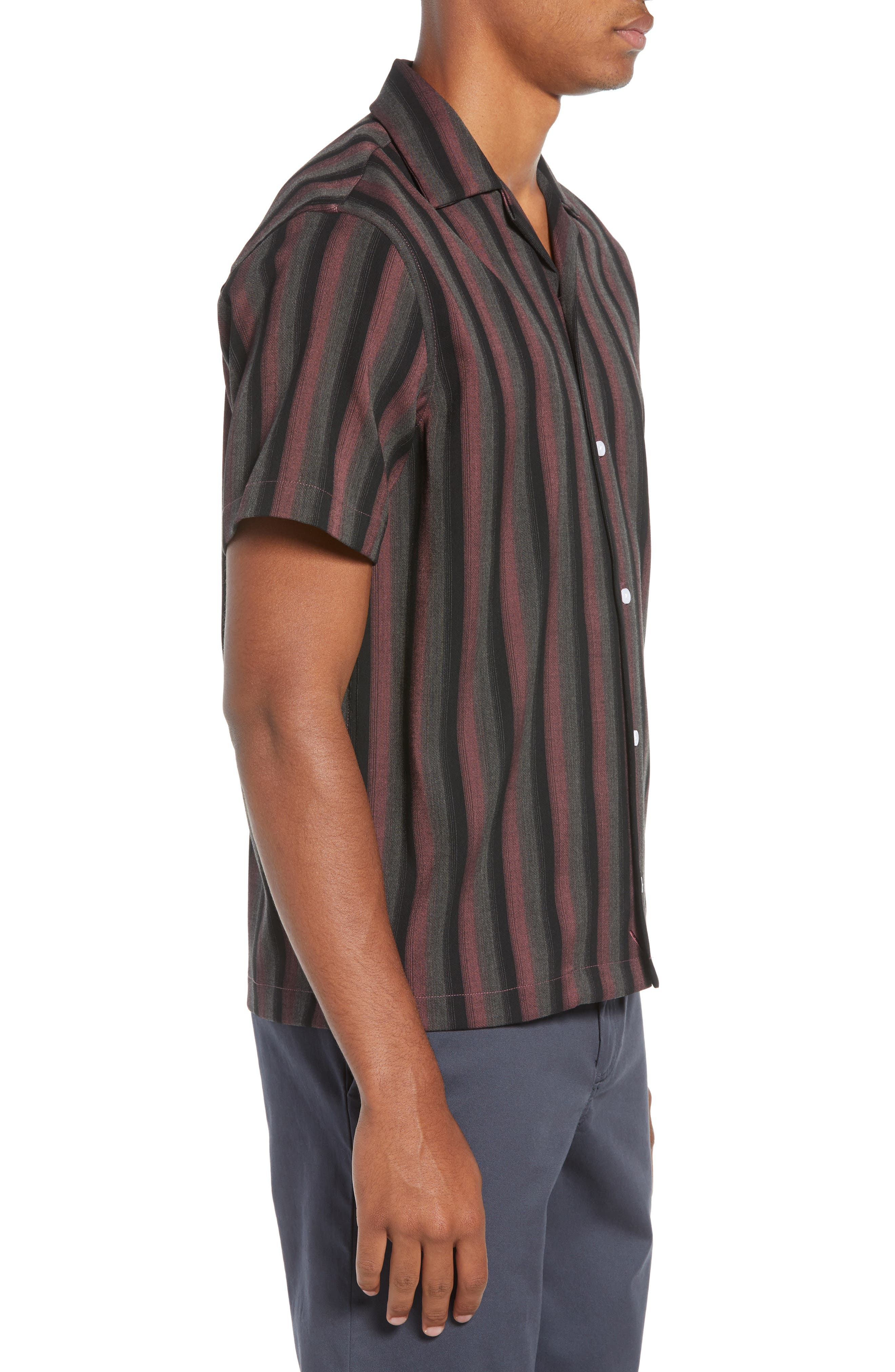 Canty Frequency Camp Shirt,                             Alternate thumbnail 4, color,                             650