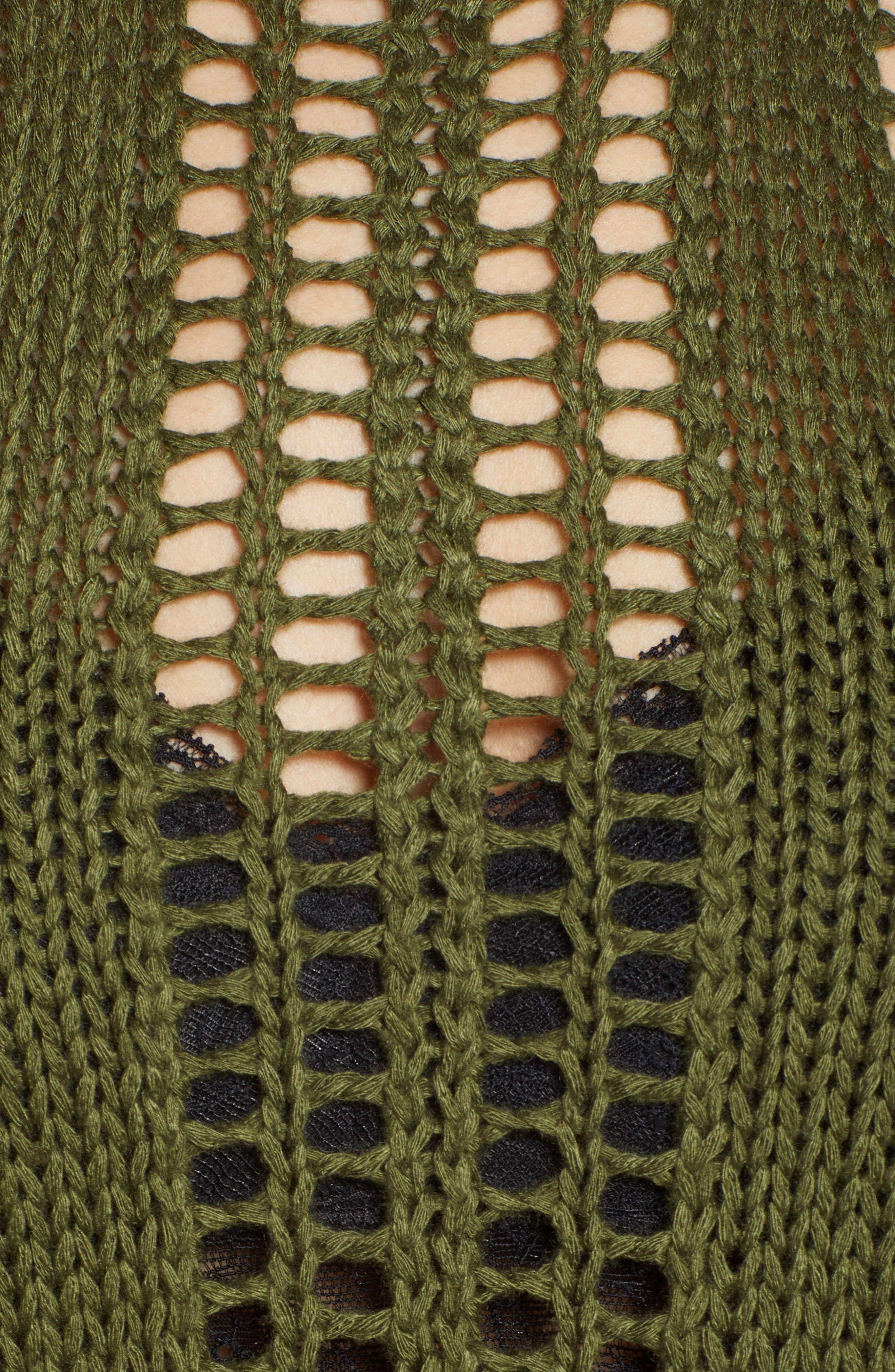 Fringe Sweater Tank,                             Alternate thumbnail 6, color,                             329