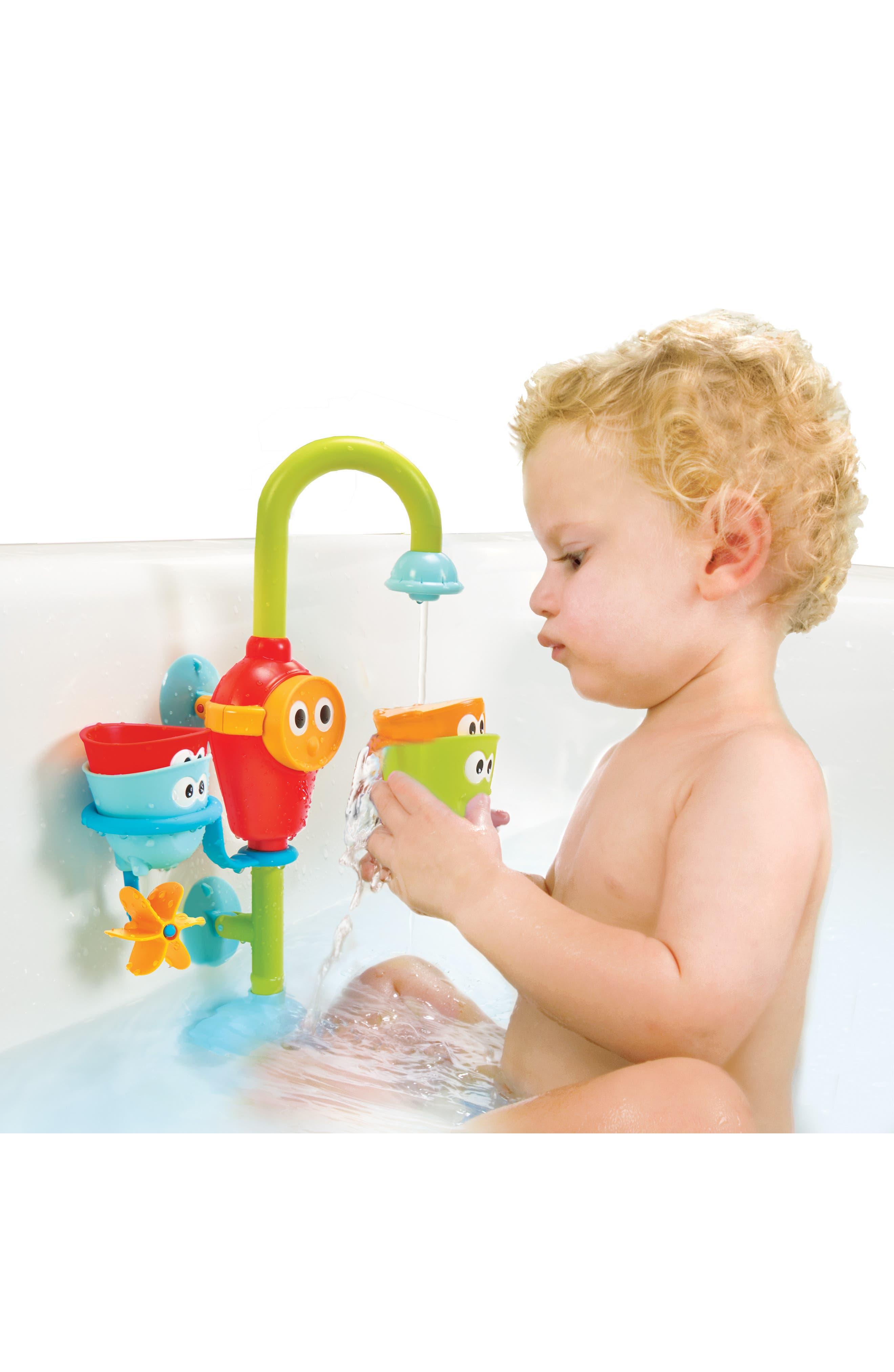 Flow 'N' Fill Spout Bath Toy,                             Alternate thumbnail 9, color,                             GREEN
