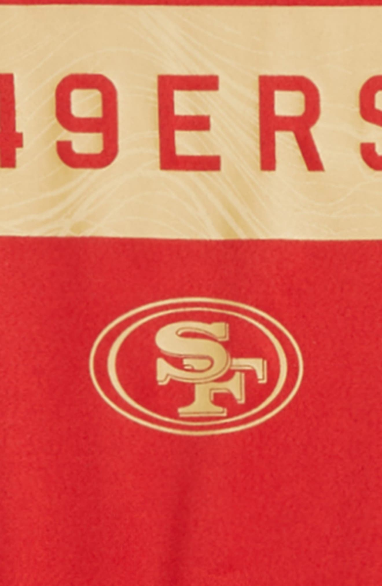 NFL San Francisco 49ers Dry Legend Lift T-Shirt,                             Alternate thumbnail 2, color,                             RED