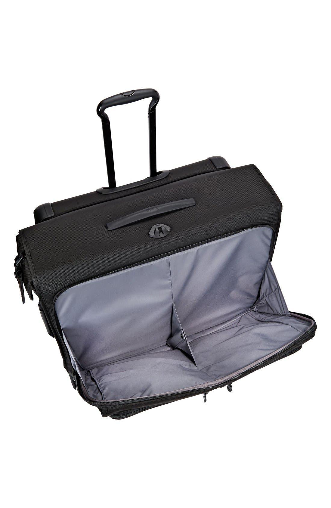 Alpha 2 Medium Trip Wheeled Garment Bag,                             Alternate thumbnail 3, color,                             BLACK