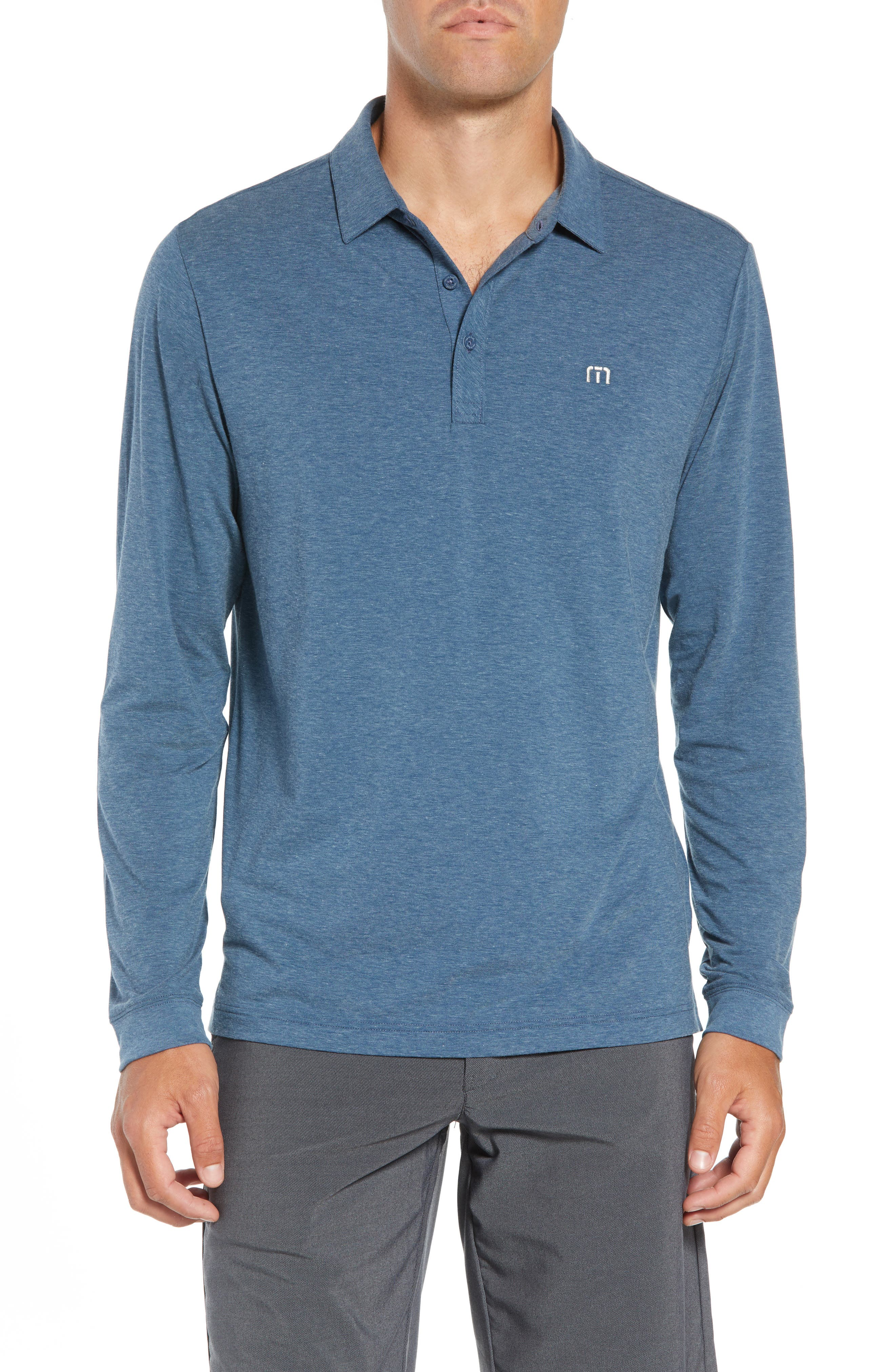 Backup Plan Regular Fit Polo,                         Main,                         color, TRADEWINDS/ BLUE WING TEAL