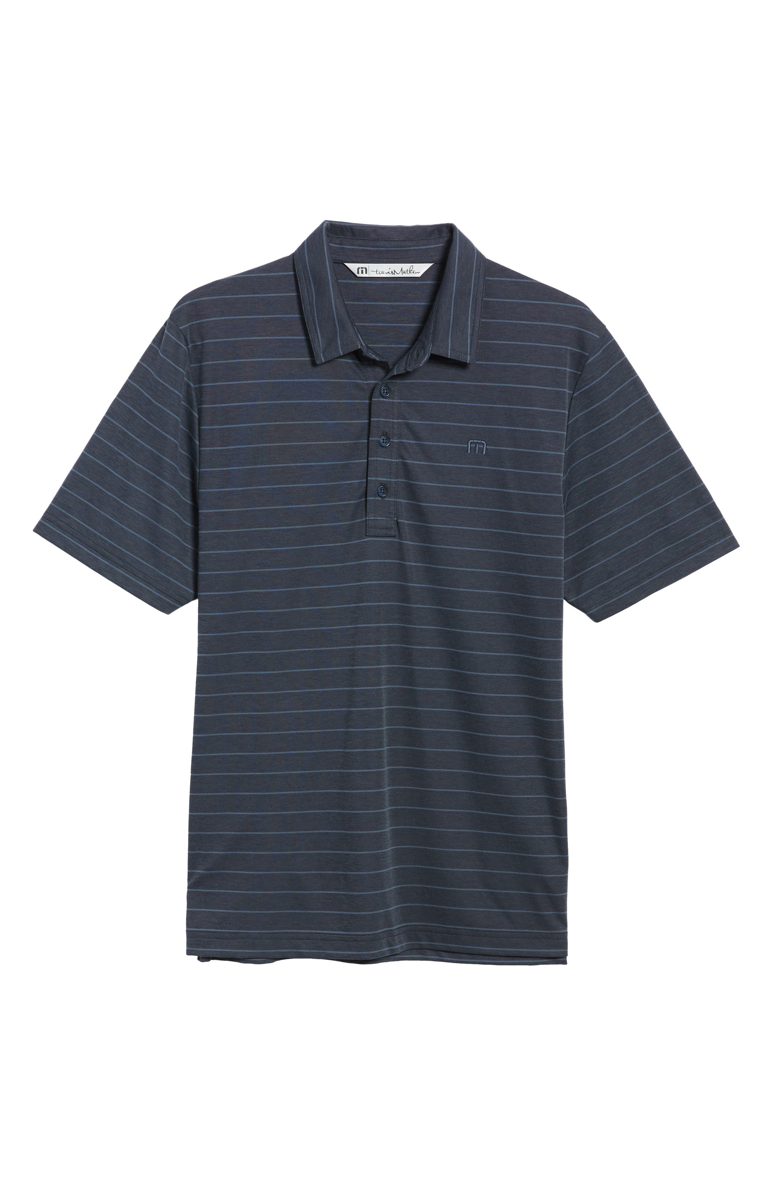 Marini Polo Shirt,                             Alternate thumbnail 6, color,                             BLUE NIGHTS/ ALLURE