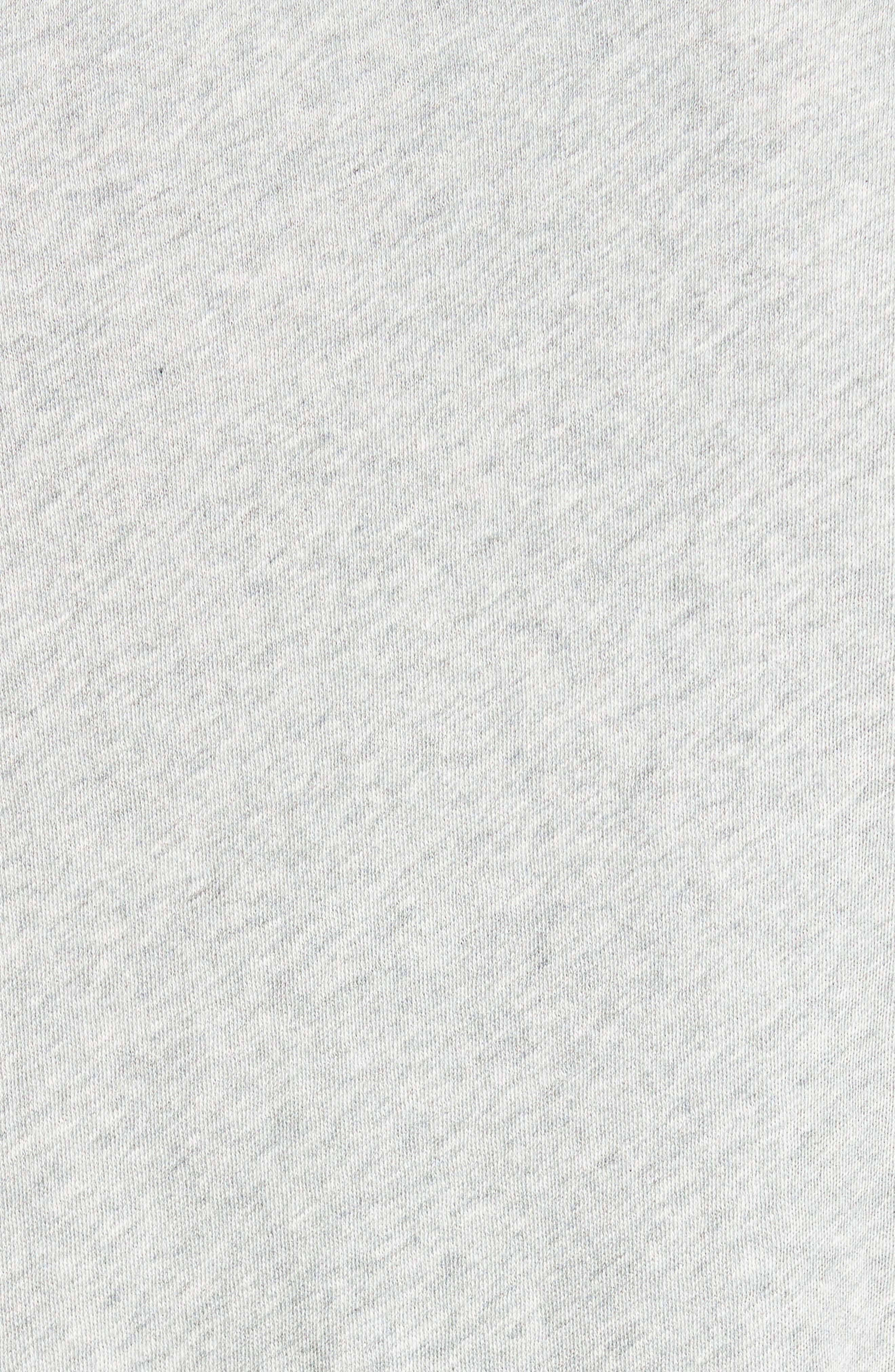 Hartley Cotton & Linen T-Shirt,                             Alternate thumbnail 5, color,                             034