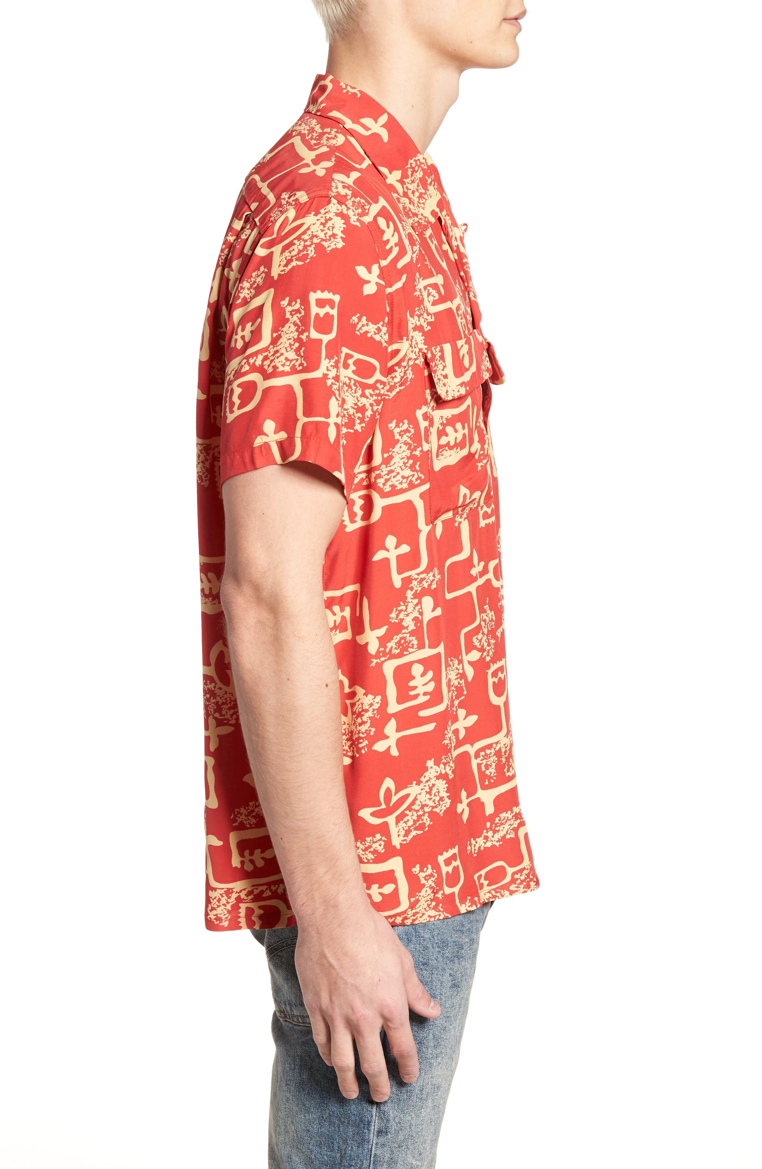 1940's Hawaiian Shirt,                             Alternate thumbnail 3, color,