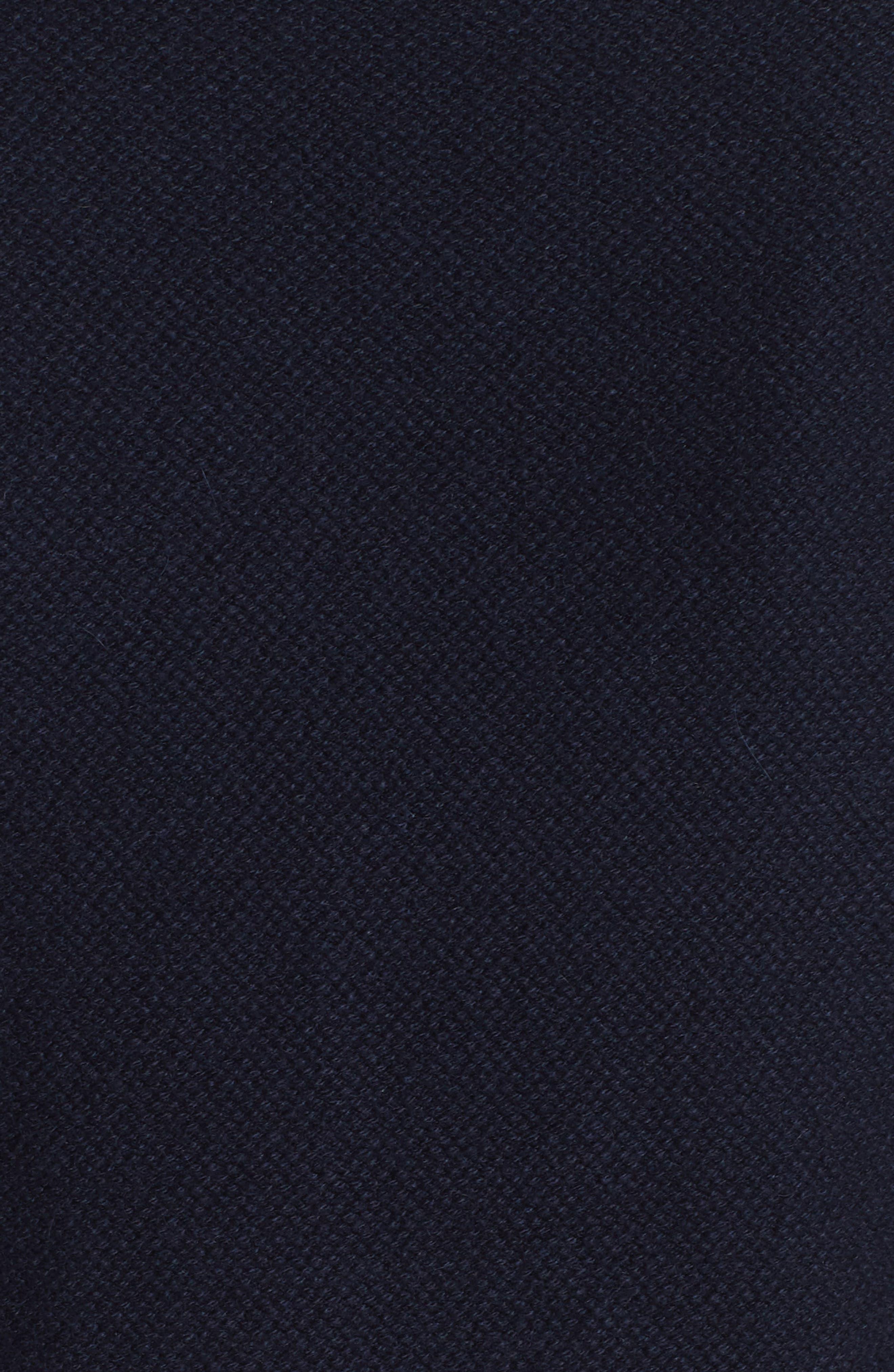 Cashmere Raglan Sweater,                             Alternate thumbnail 6, color,                             NAVY