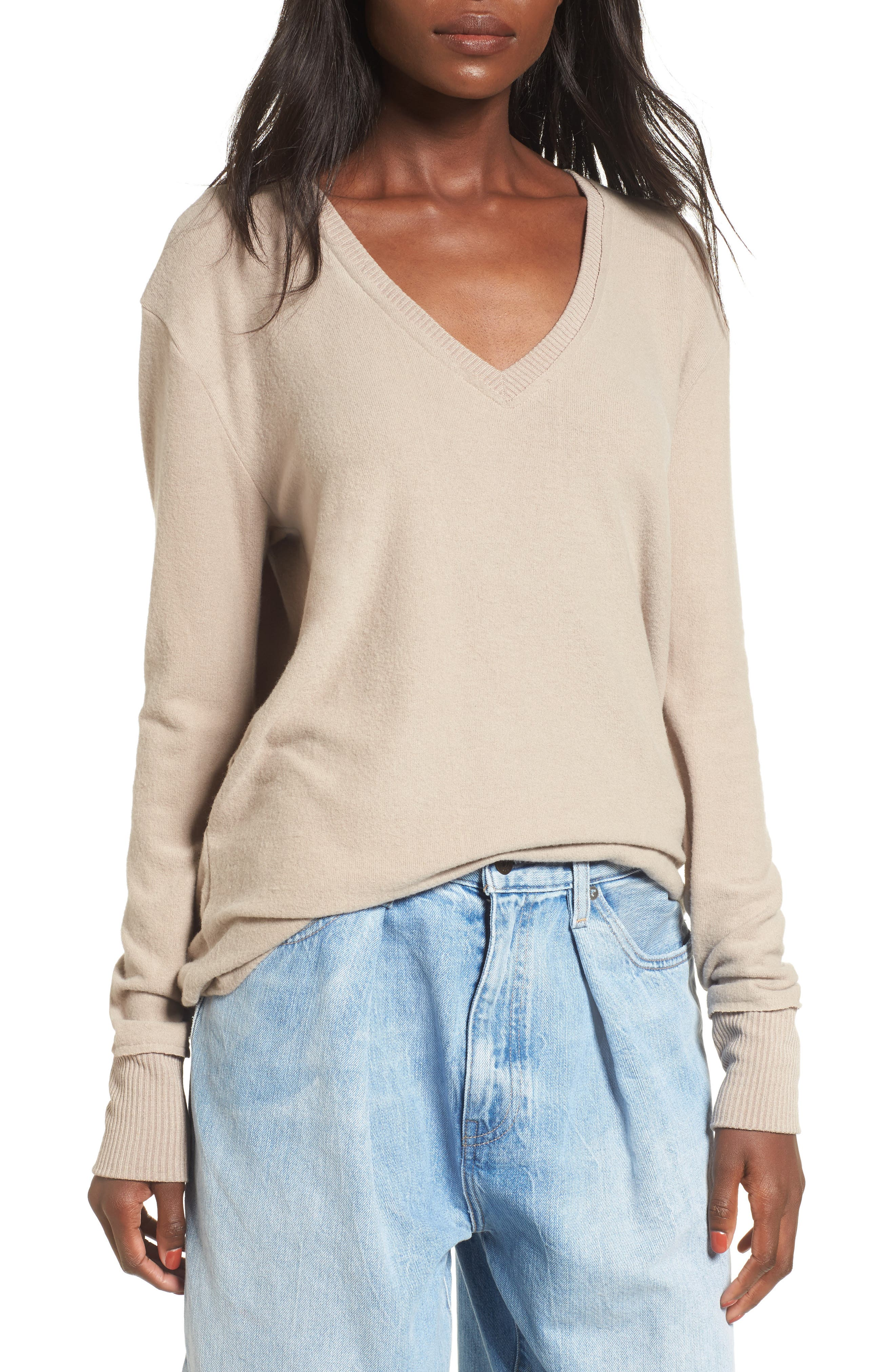 V-Neck Pullover,                             Main thumbnail 3, color,