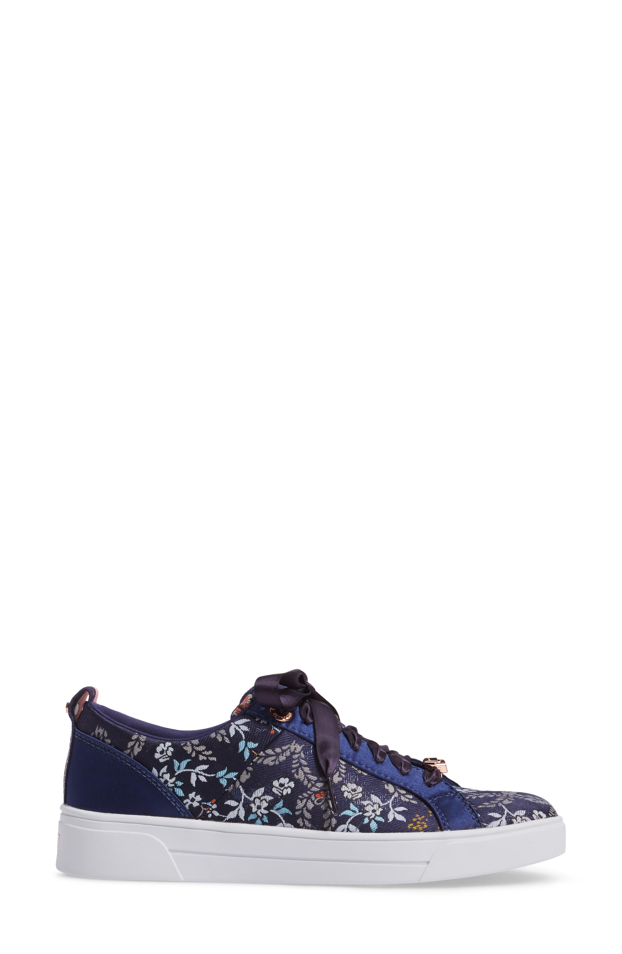 Sorcey Platform Sneaker,                             Alternate thumbnail 3, color,                             409