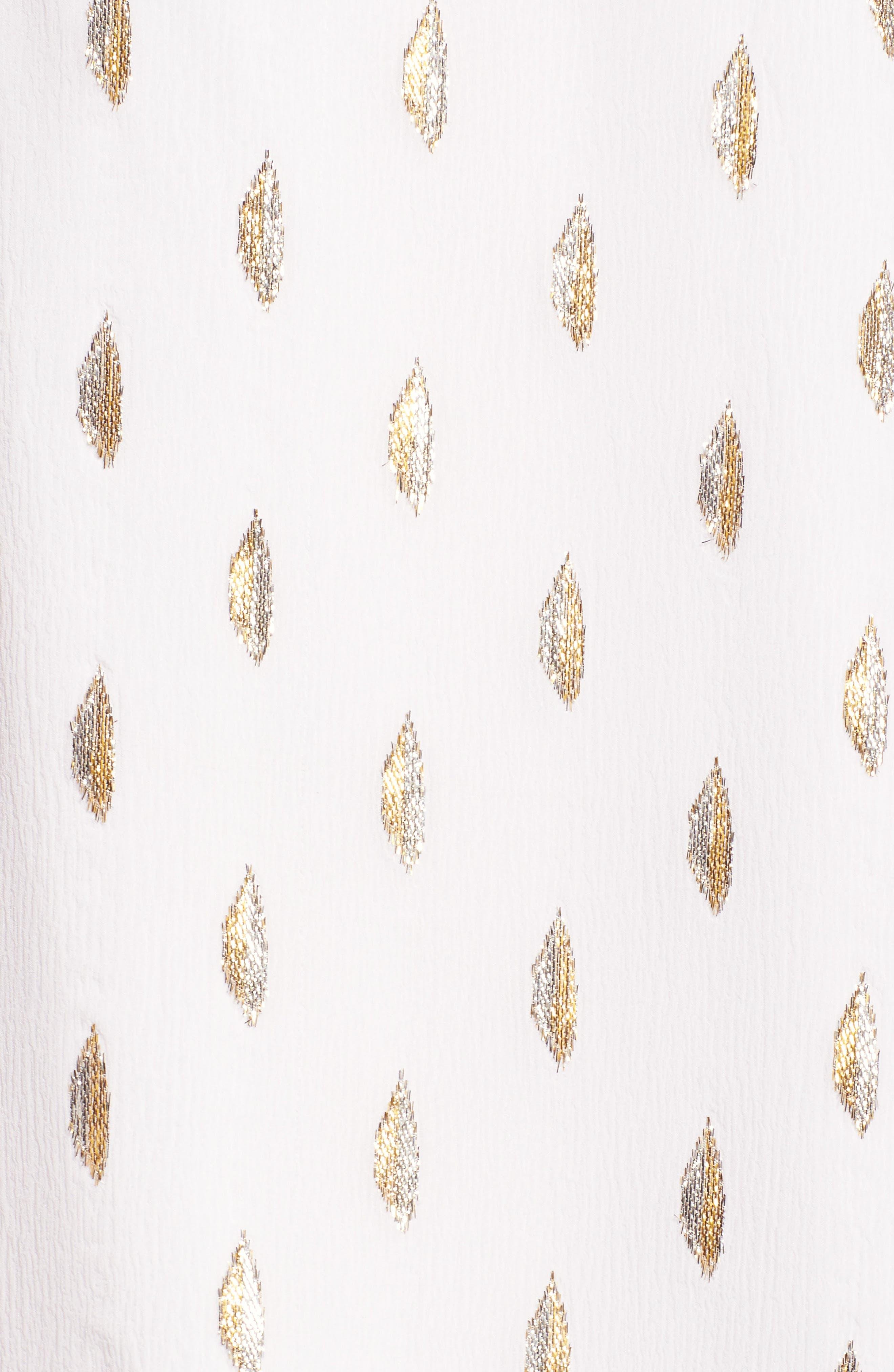 Amory Silk Tunic Dress,                             Alternate thumbnail 6, color,                             100