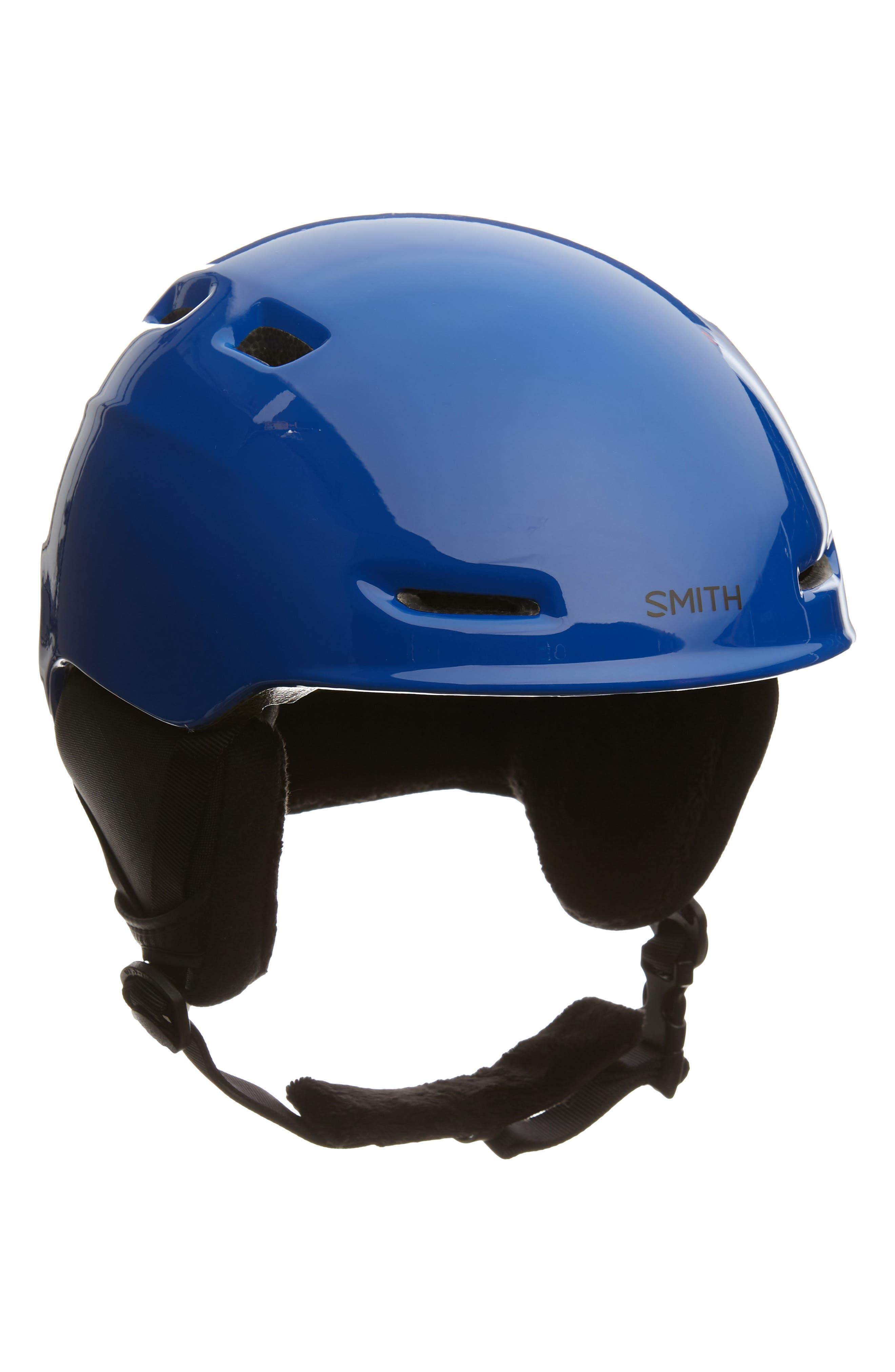'Zoom Jr.' Snow Helmet,                             Main thumbnail 1, color,                             BLUE