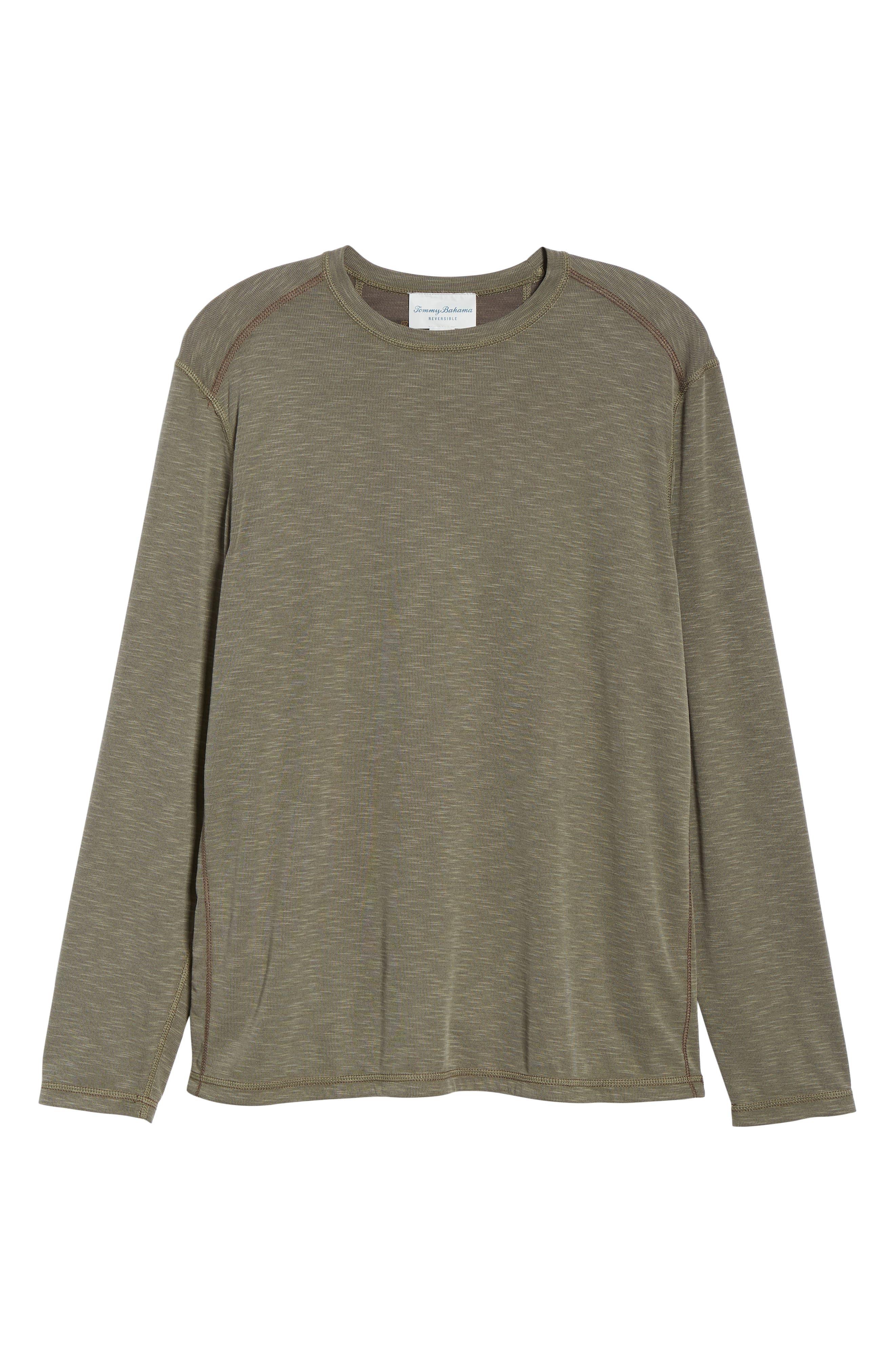 Flip Tide Standard Fit T-Shirt,                             Alternate thumbnail 7, color,                             BITTERSWEET CHOCOLATE