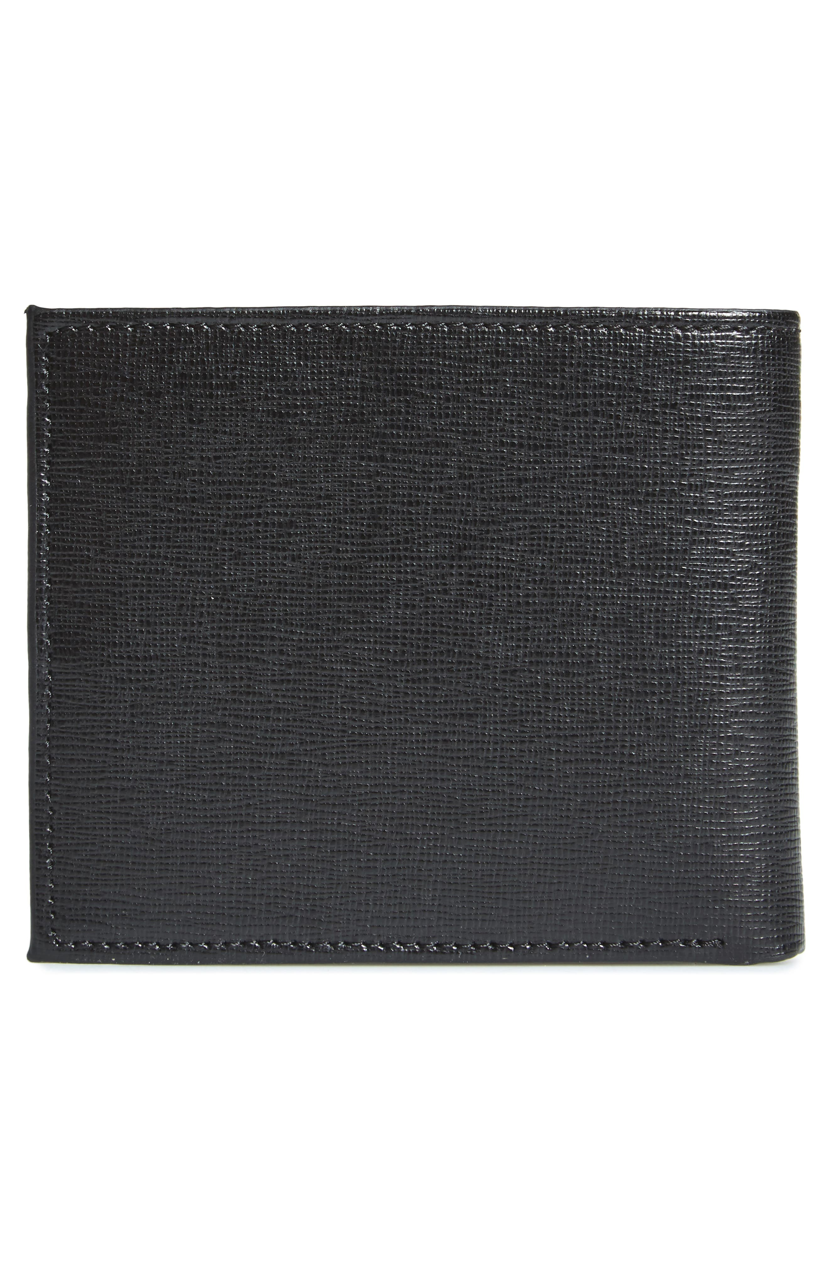 Stitchup Bifold Wallet,                             Alternate thumbnail 3, color,                             001