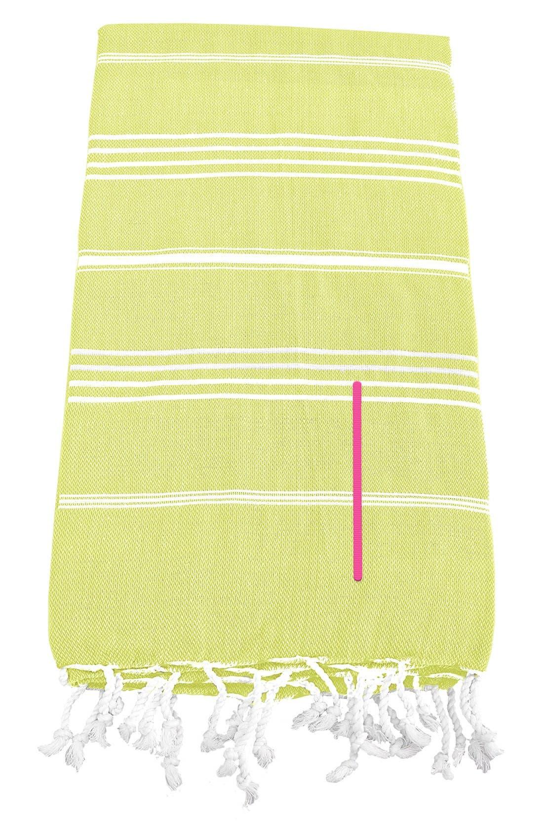 Monogram Turkish Cotton Towel,                             Main thumbnail 38, color,