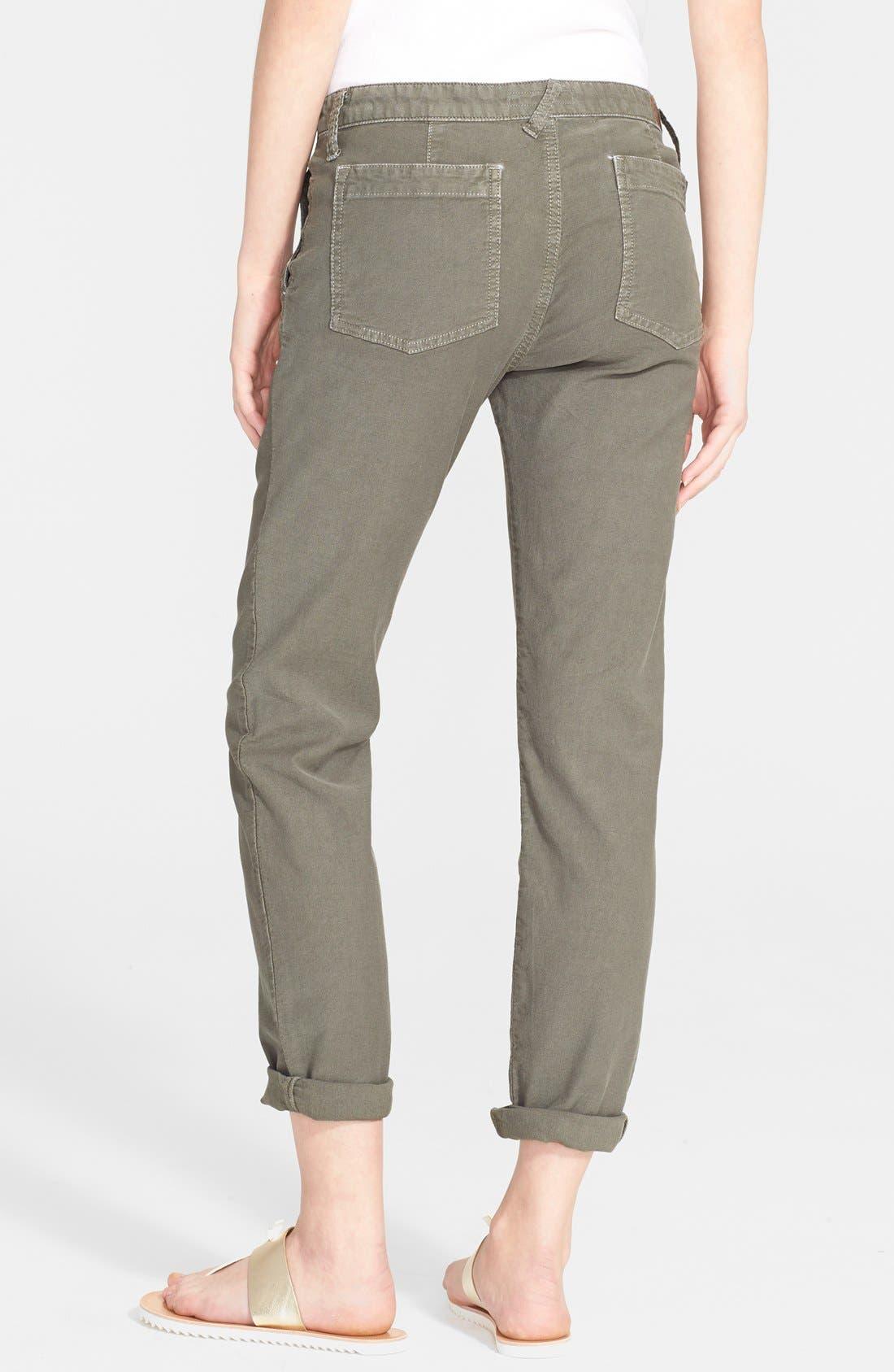 Painter Cotton & Linen Pants,                             Alternate thumbnail 7, color,