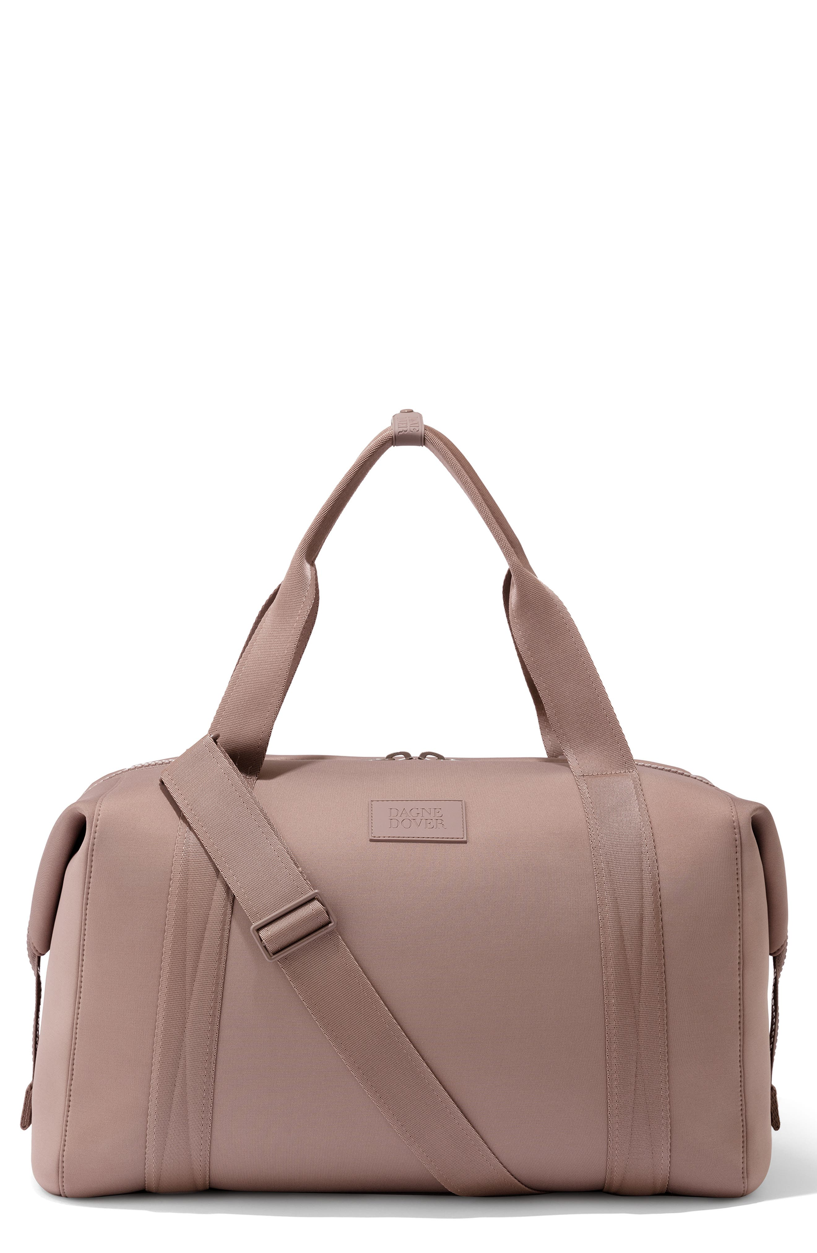 DAGNE DOVER Xl Landon Carryall Duffel Bag - Pink in Dune