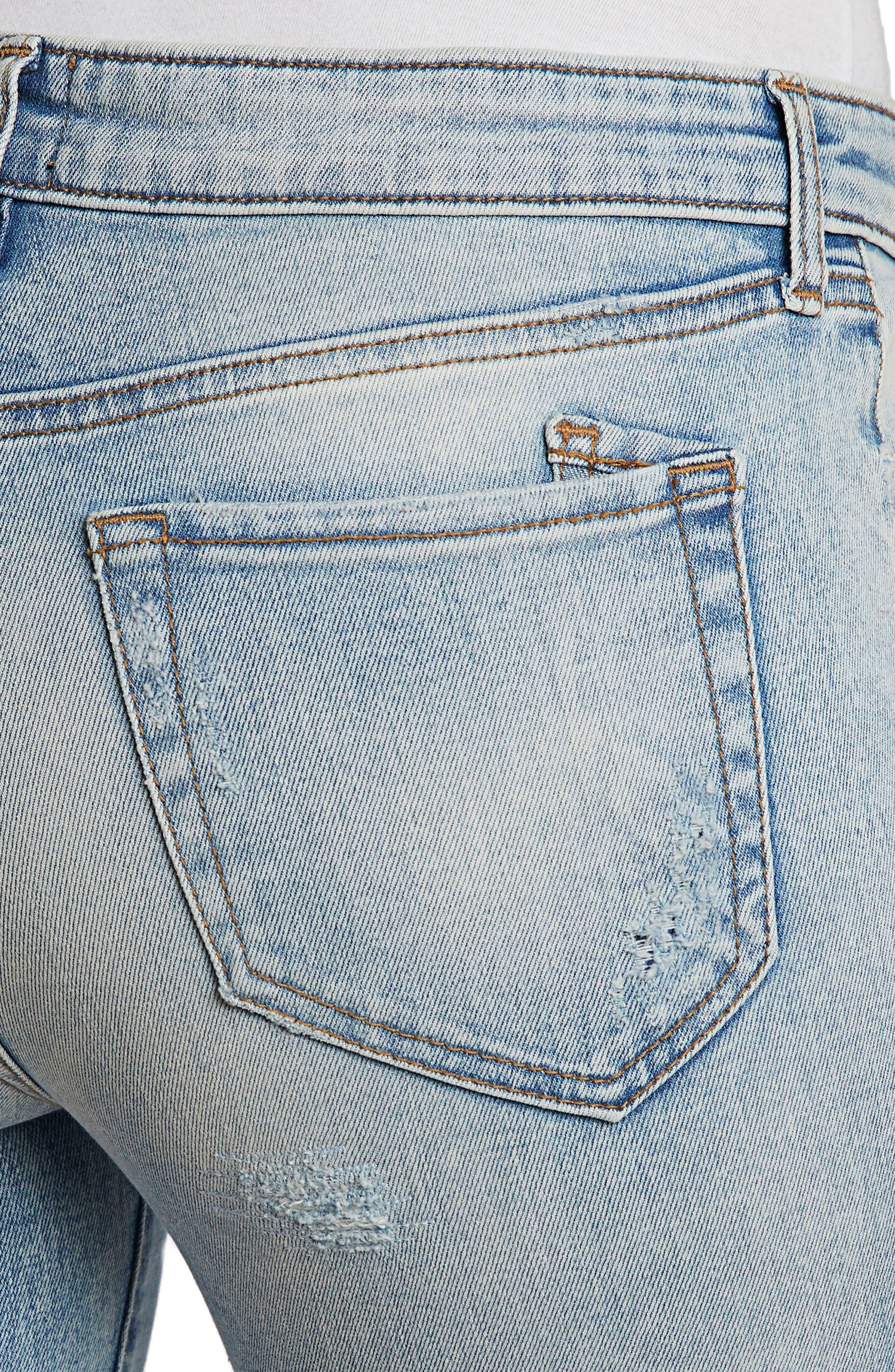 PRPS,                             Camaro Ankle Skinny Jeans,                             Alternate thumbnail 4, color,                             490