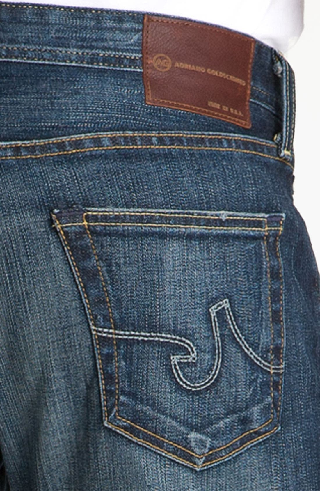 AG,                             Jeans 'Hero' Relaxed Fit Jeans,                             Alternate thumbnail 2, color,                             420