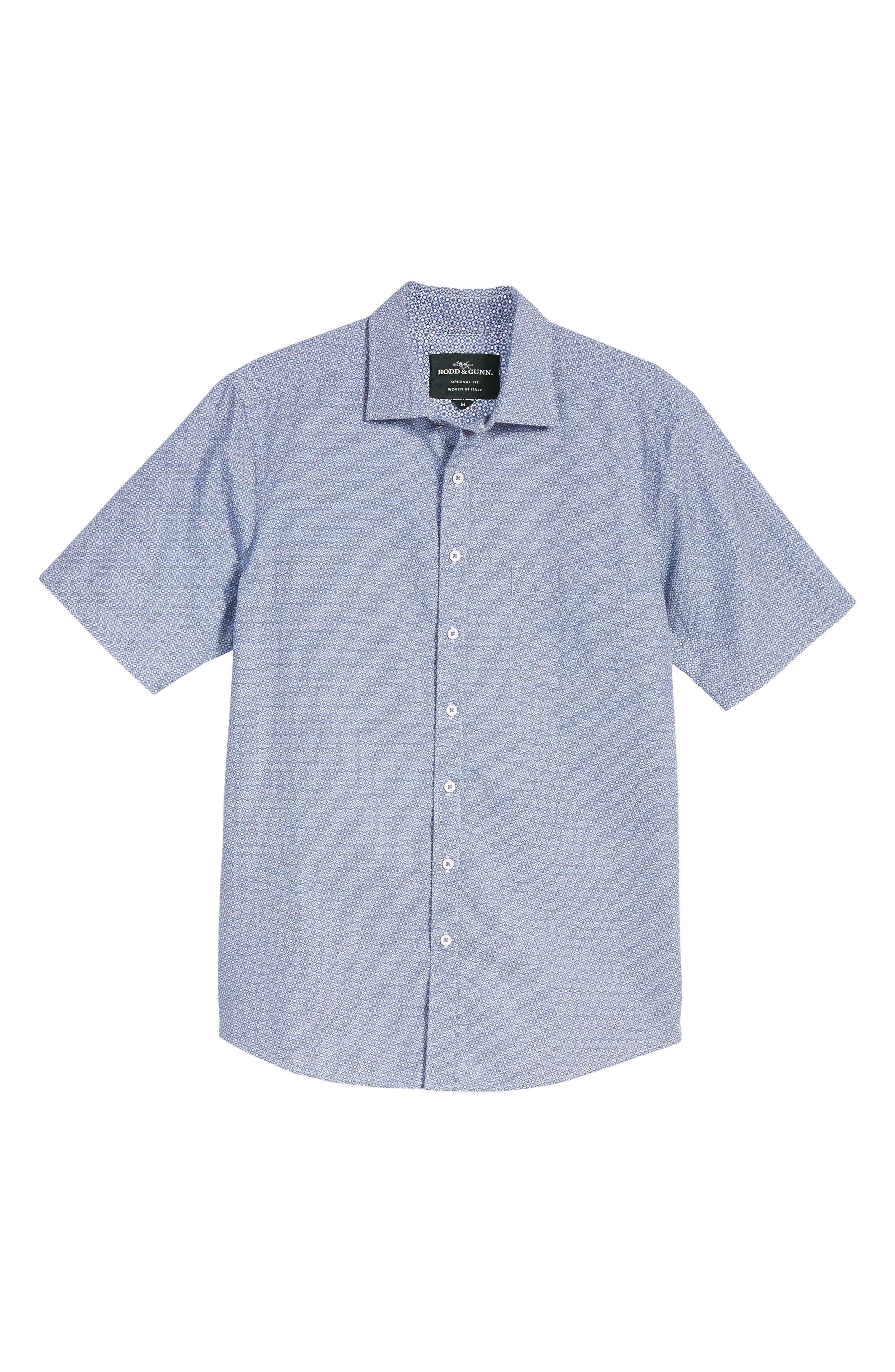 Sullivan Regular Fit Print Sport Shirt,                             Alternate thumbnail 6, color,                             459