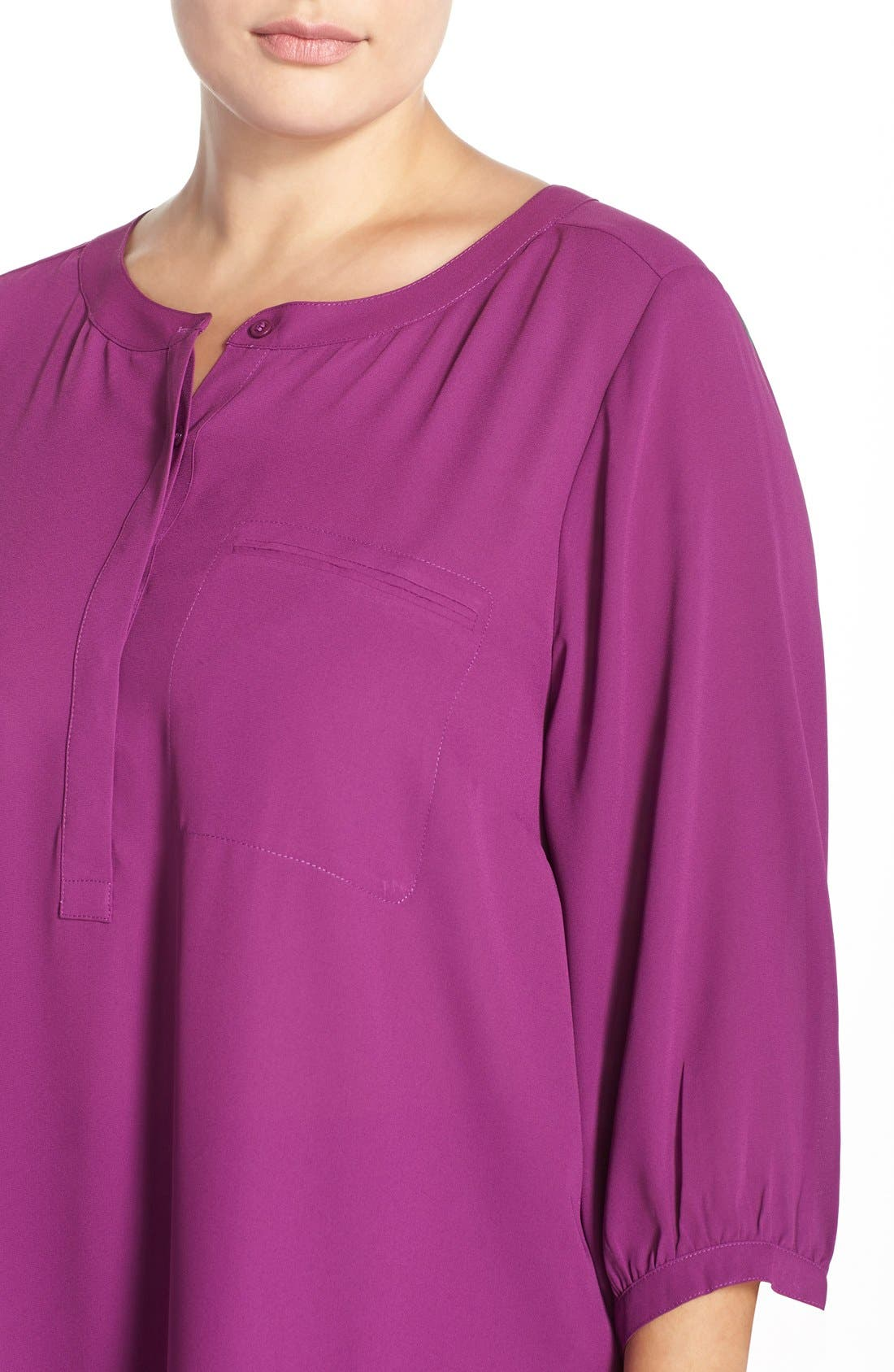 Henley Top,                             Alternate thumbnail 314, color,