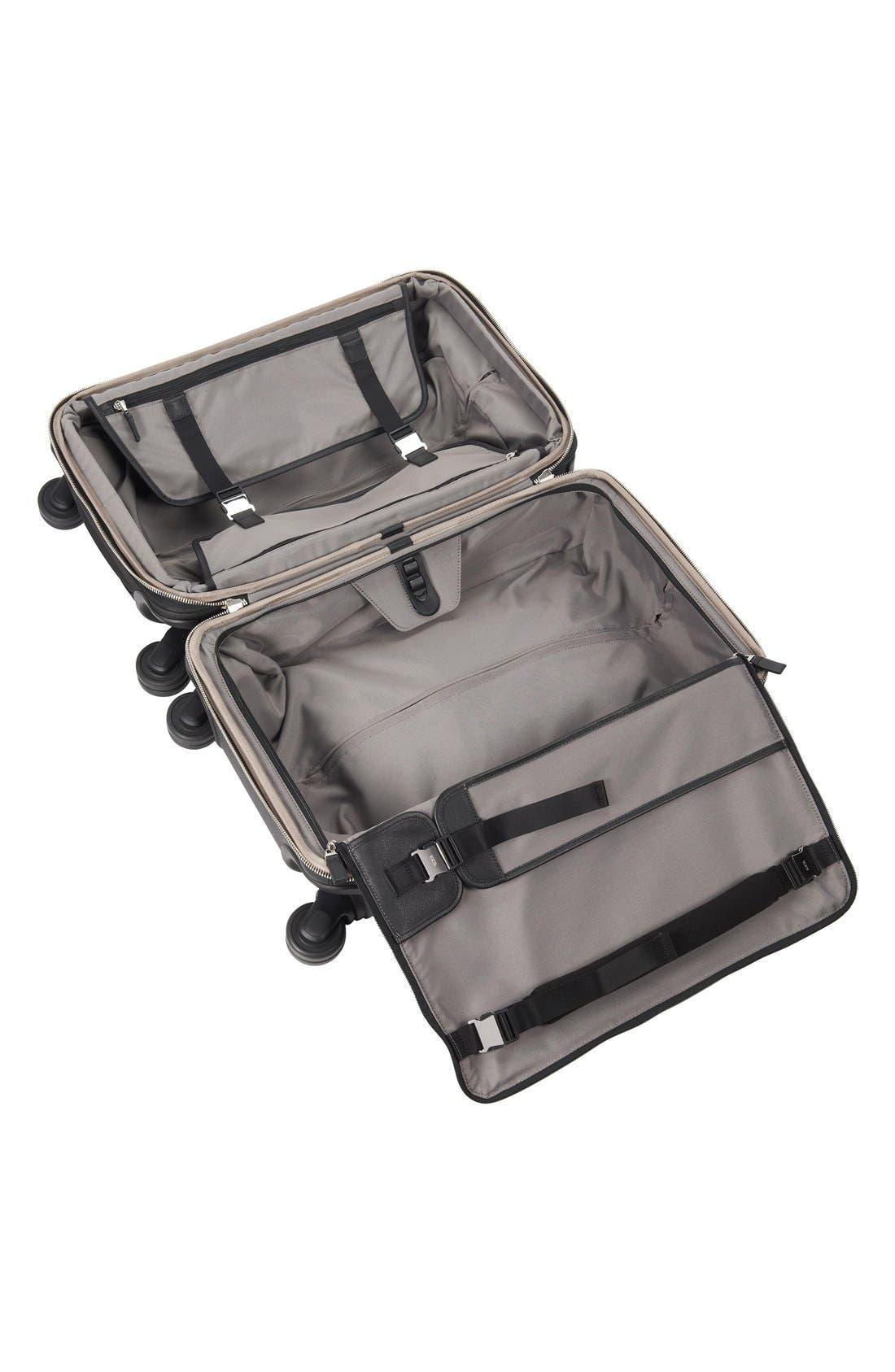 'Astor - Osborne' 4-Wheeled Carry-On Suitcase,                             Alternate thumbnail 2, color,                             001