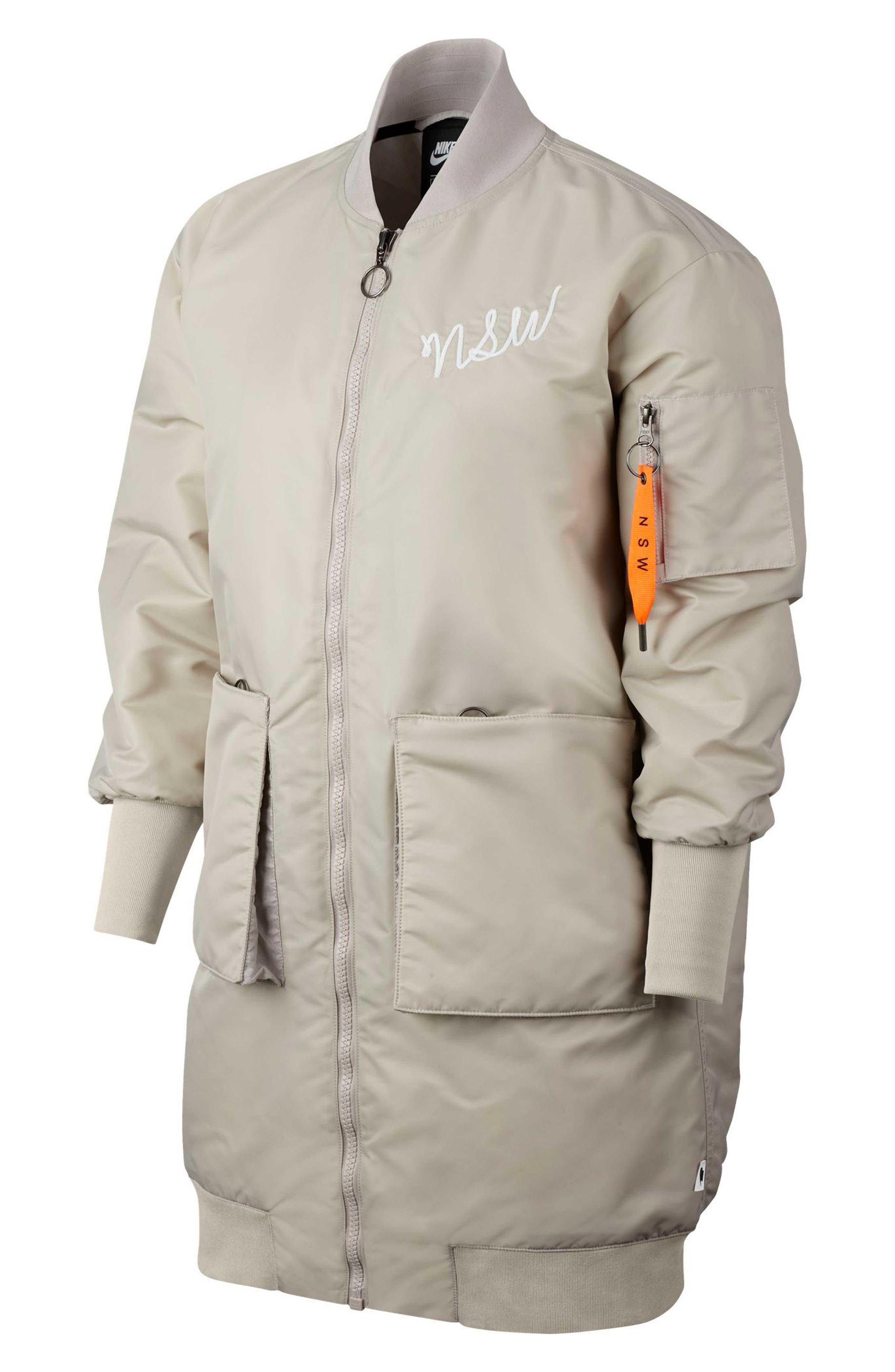 Sportswear NSW Women's Parka,                         Main,                         color, STRING/ WHITE